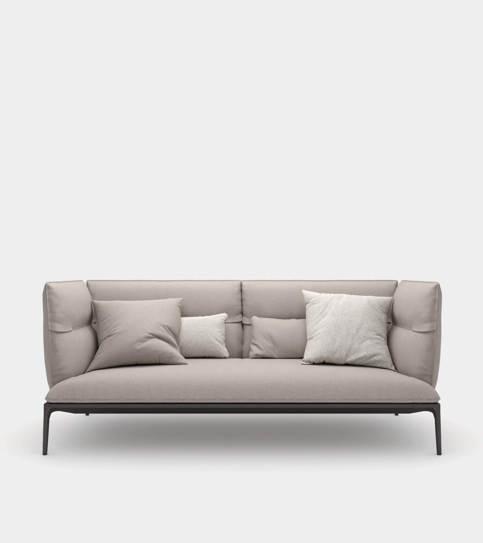 Sofa with high backrest-12 3D Model