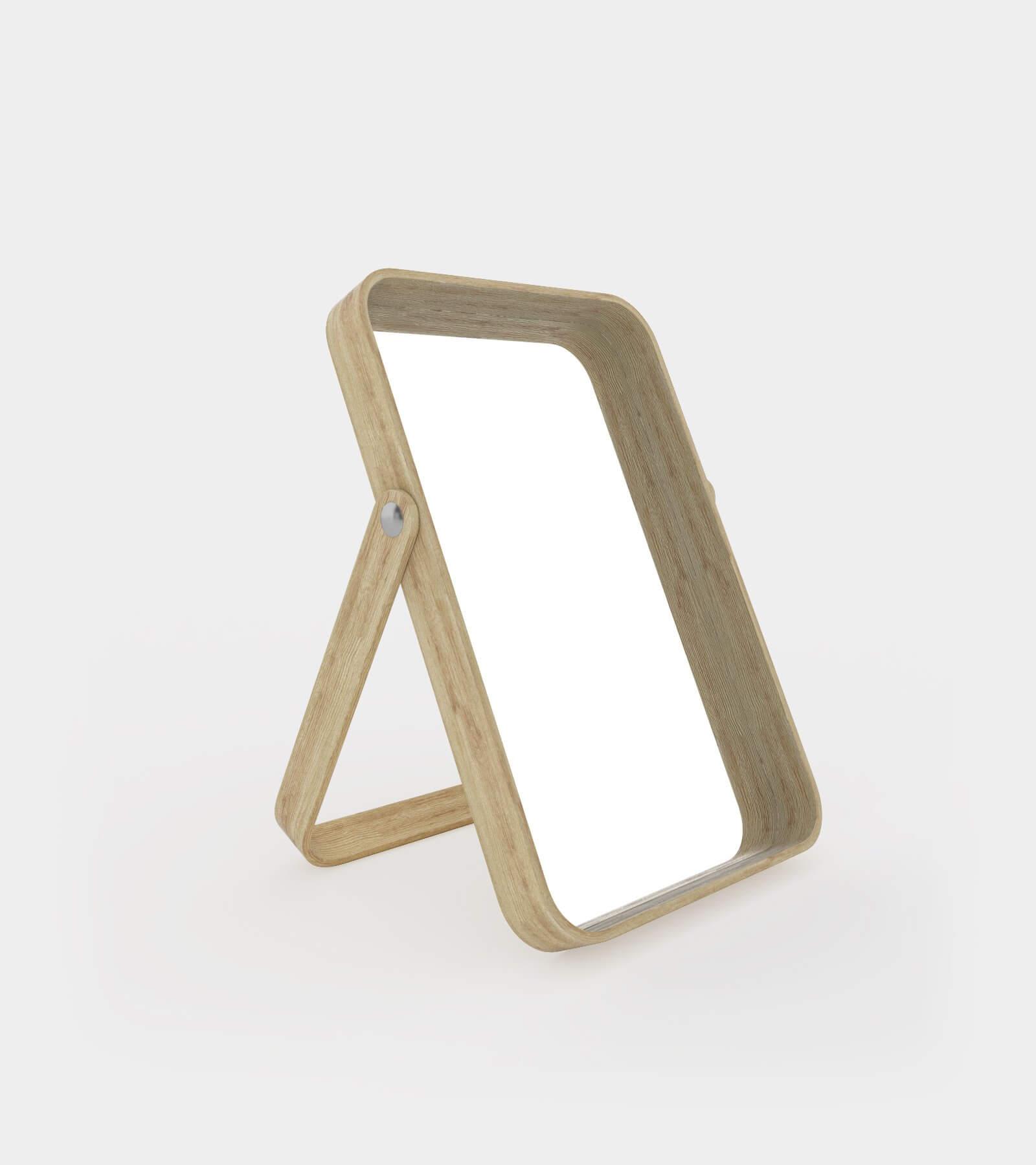 Ash table mirror-1 - 3D Model