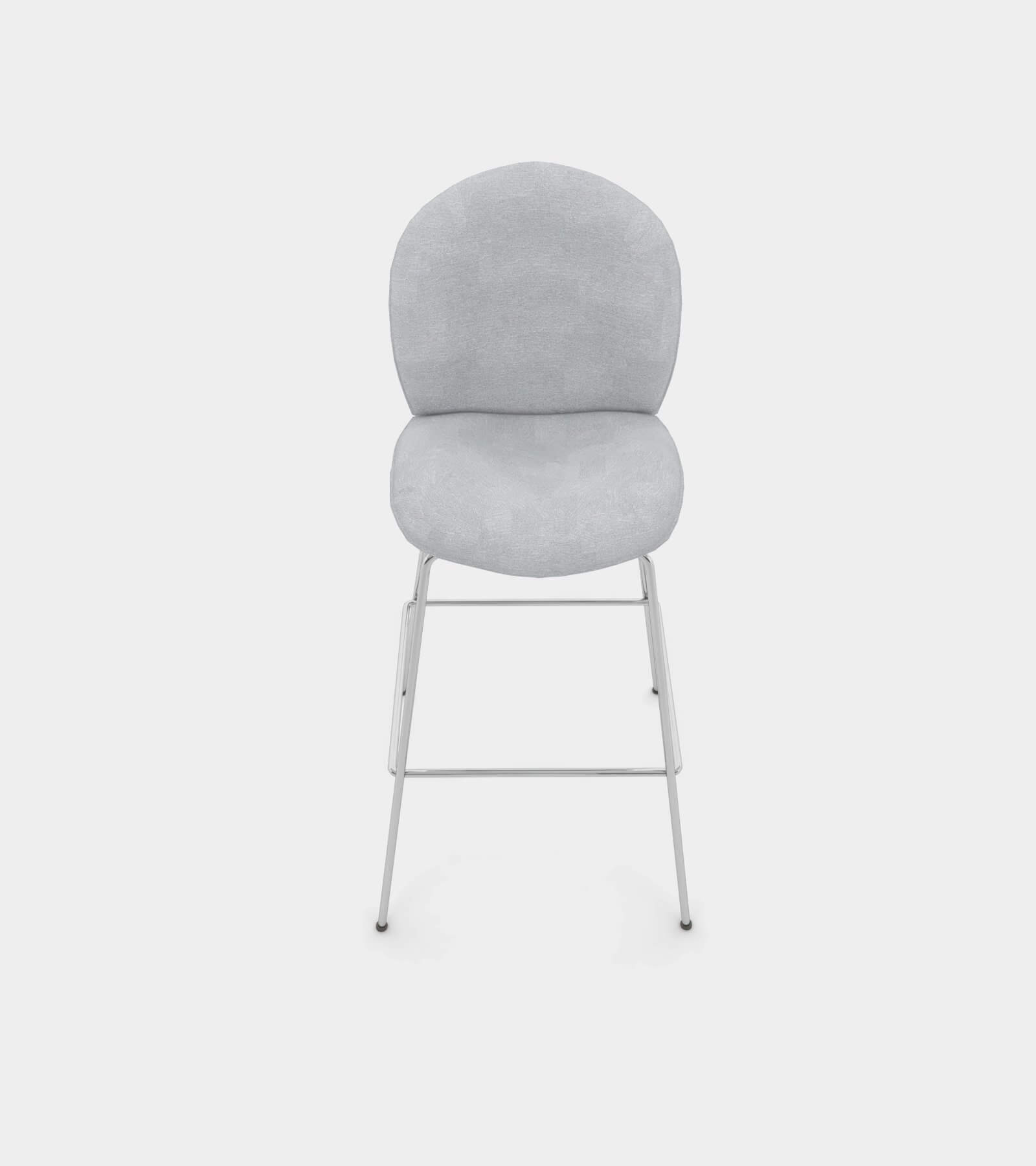 Bar and counter stool with fabric cover 2 - 3D Model