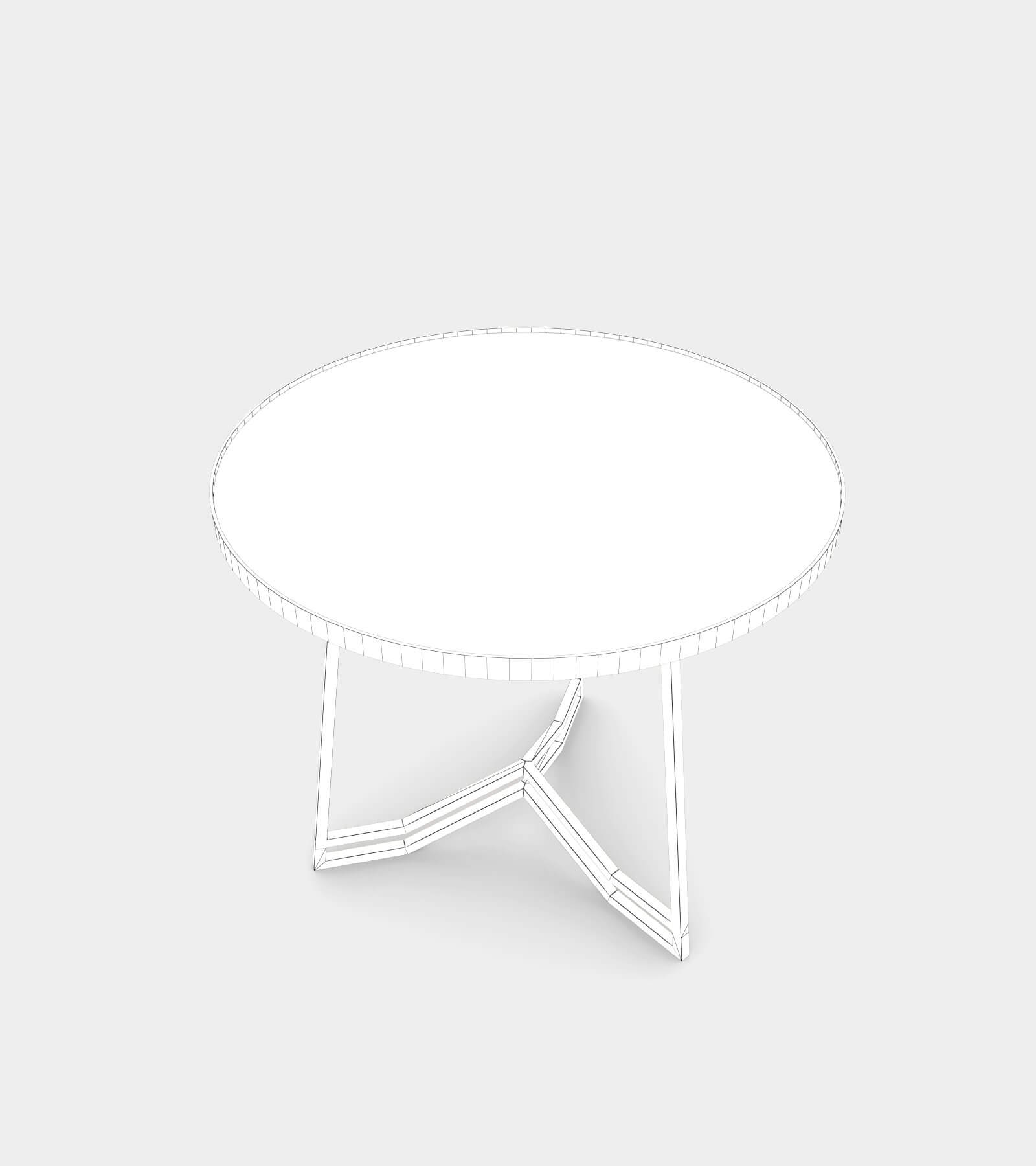 Bronze side table-wire-1 3D Model