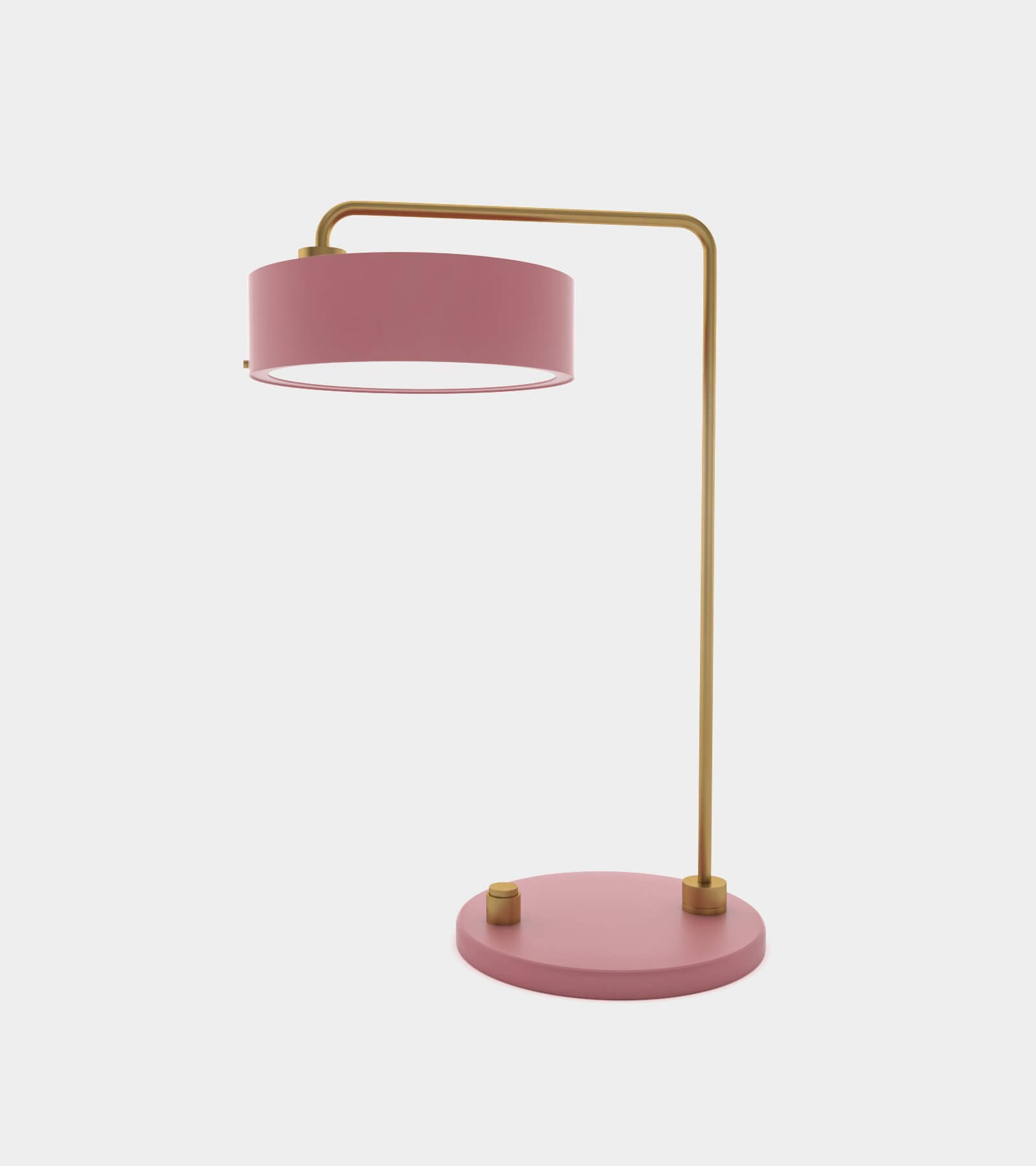 Classic table lamp round - 3D Model