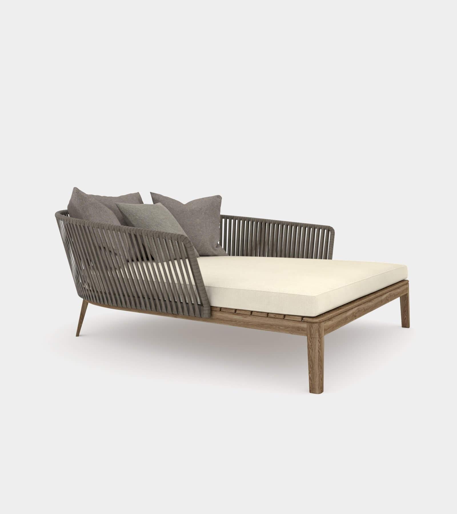 Comfortable daybed for outside- 3D Model