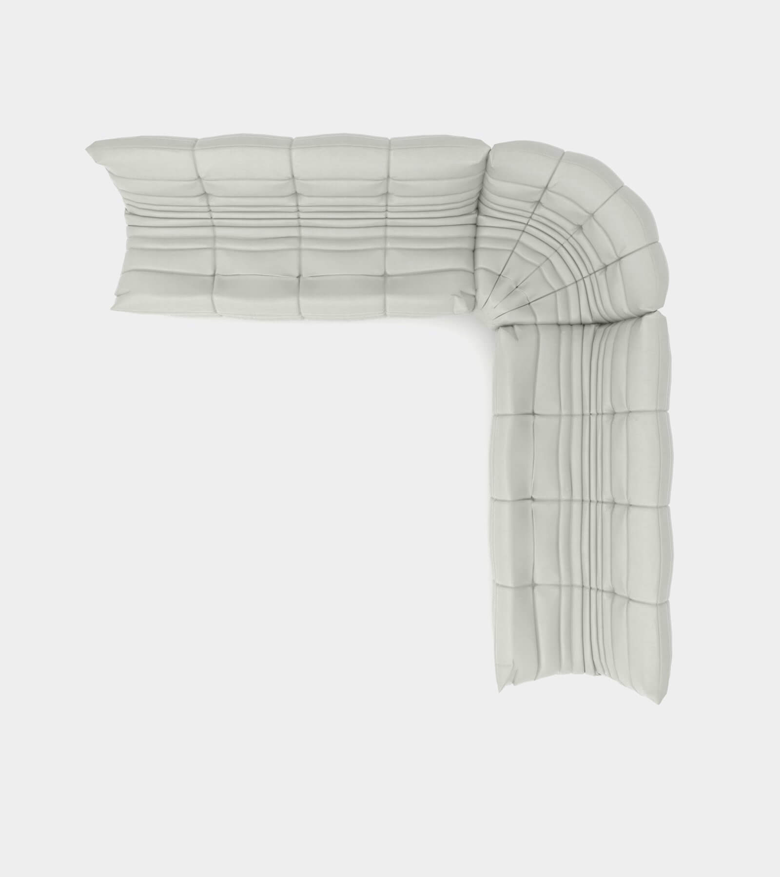 Cozy modular sofa landscape 2 - 3D Model