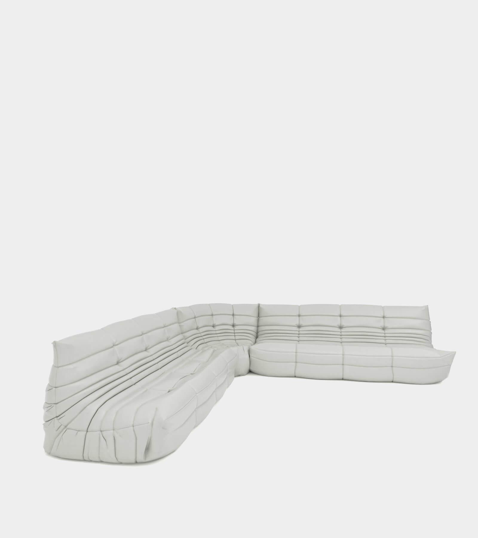 Cozy modular sofa landscape - 3D Model