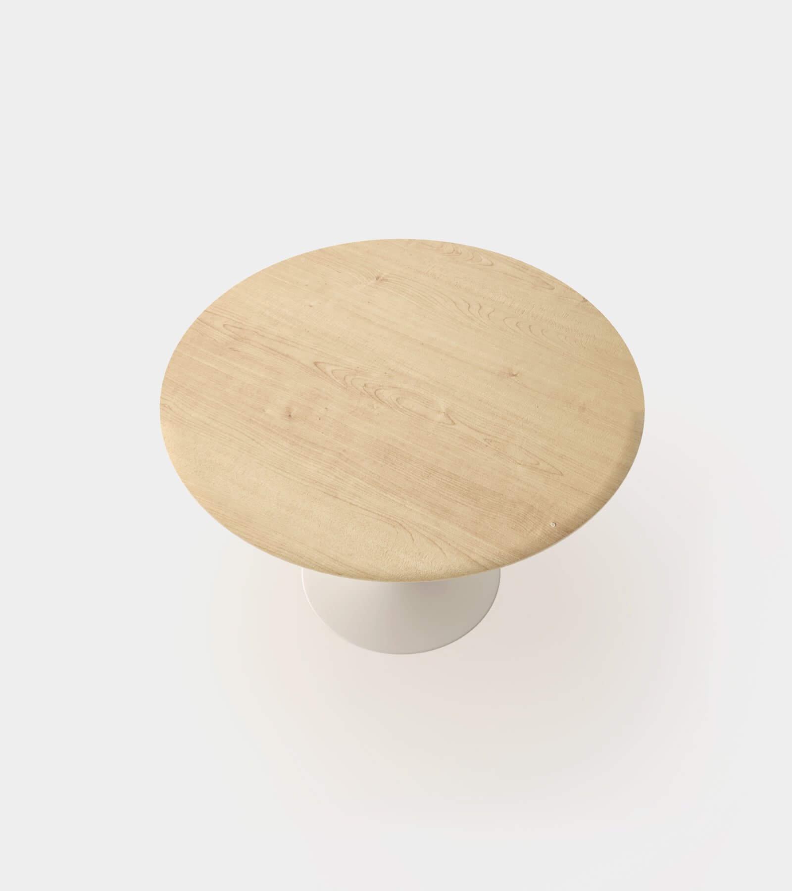 Dining table round for 4 people 2 - 3D Model
