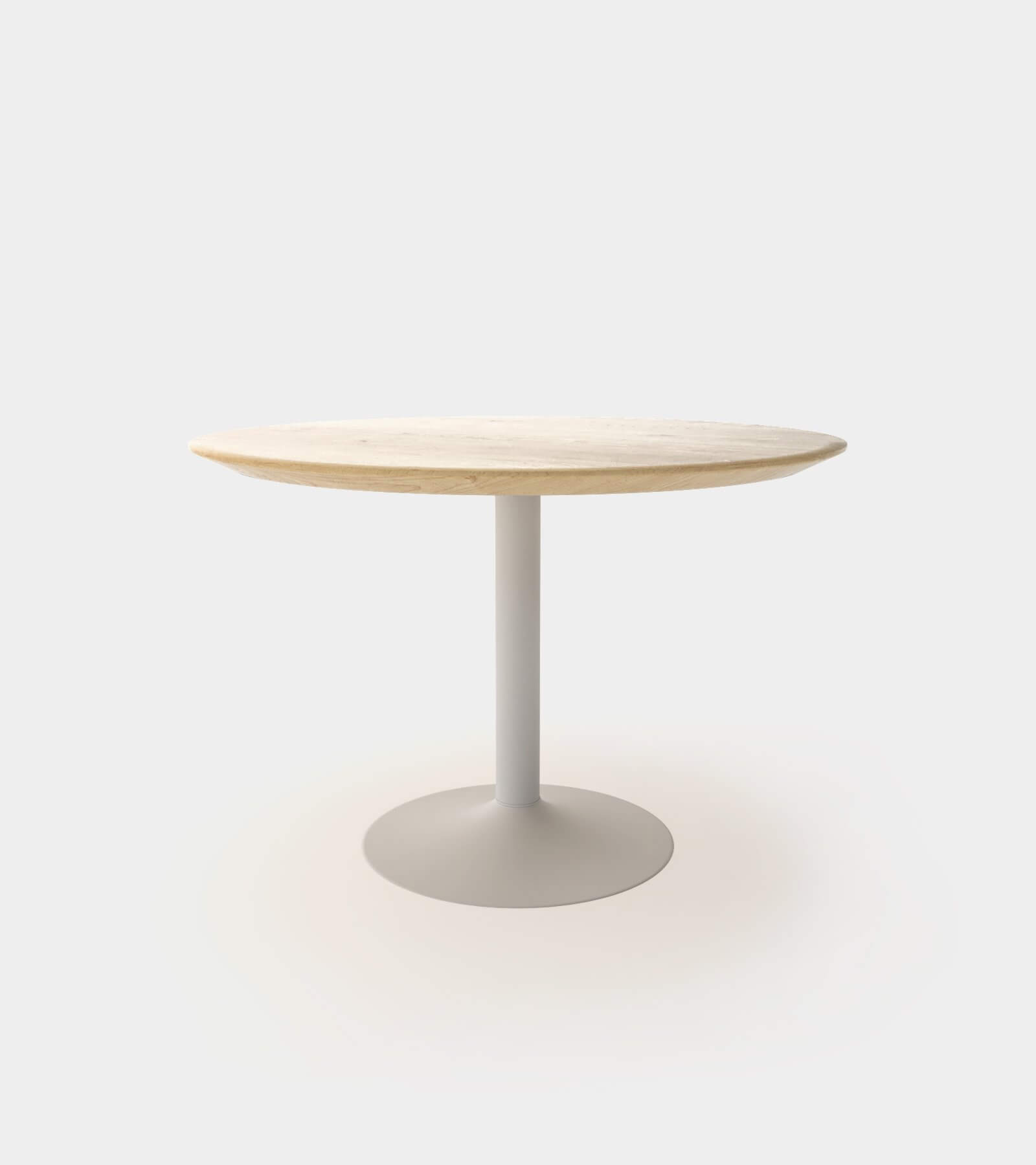 Dining table round for 4 people - 3D Model