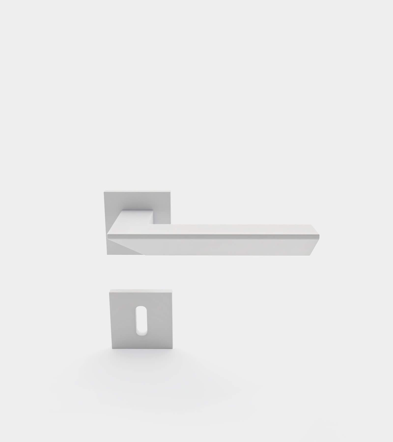 Door handle set for interior 2 - 3D Model