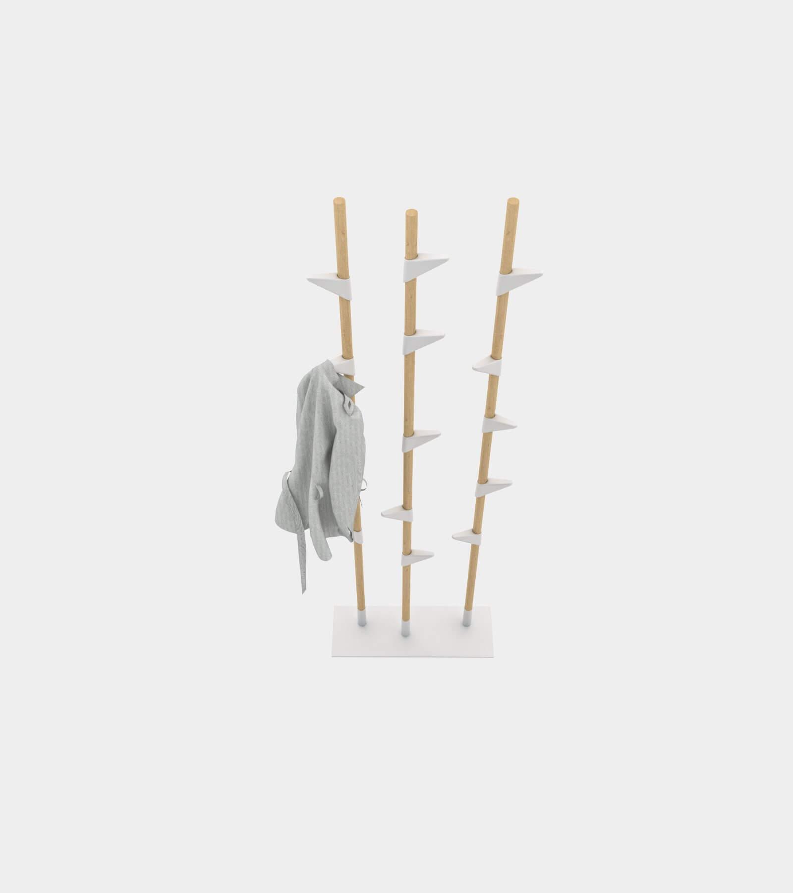 Free standing wardrobe 2 - 3D Model