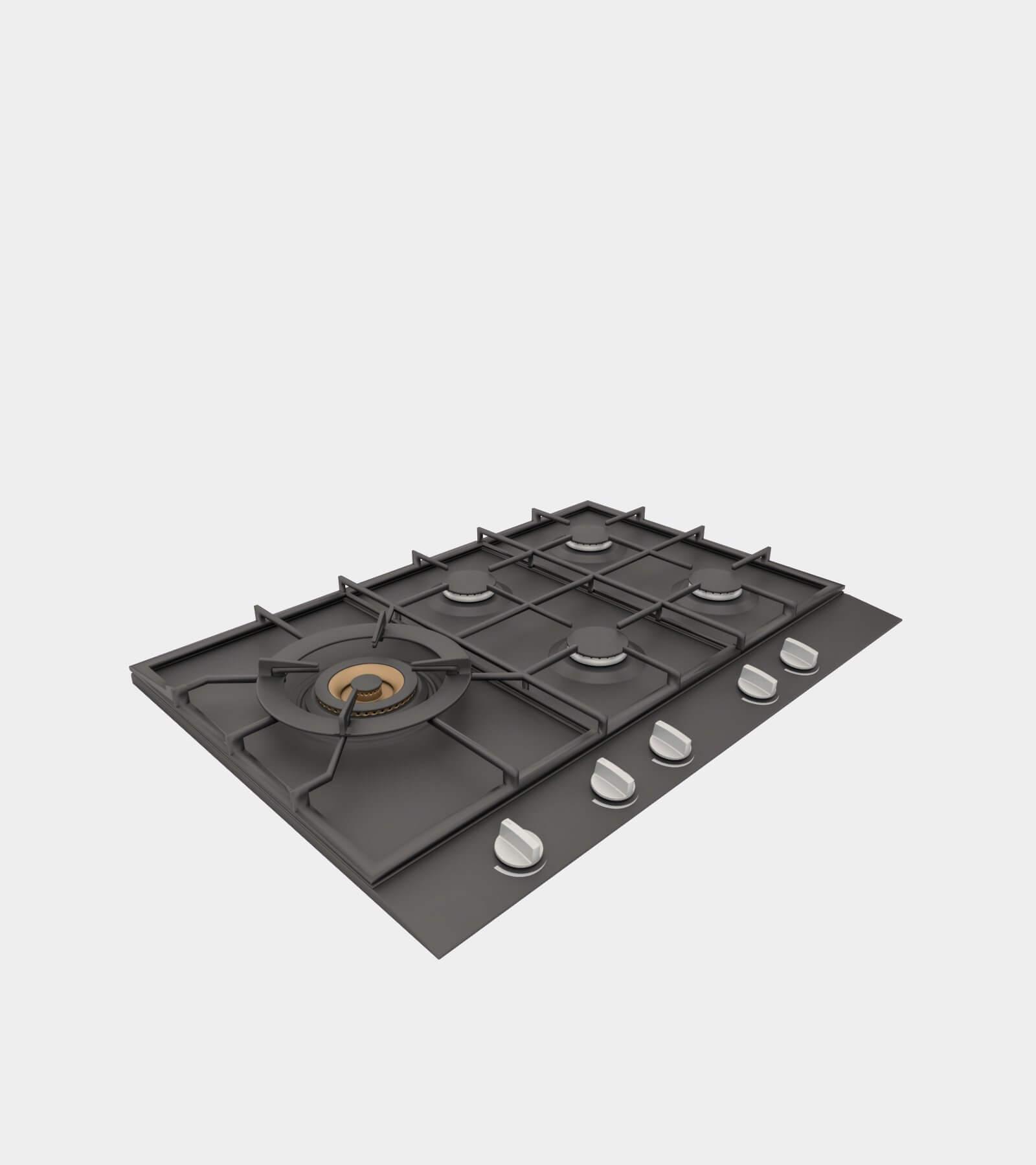 Gas hob- 3D Model