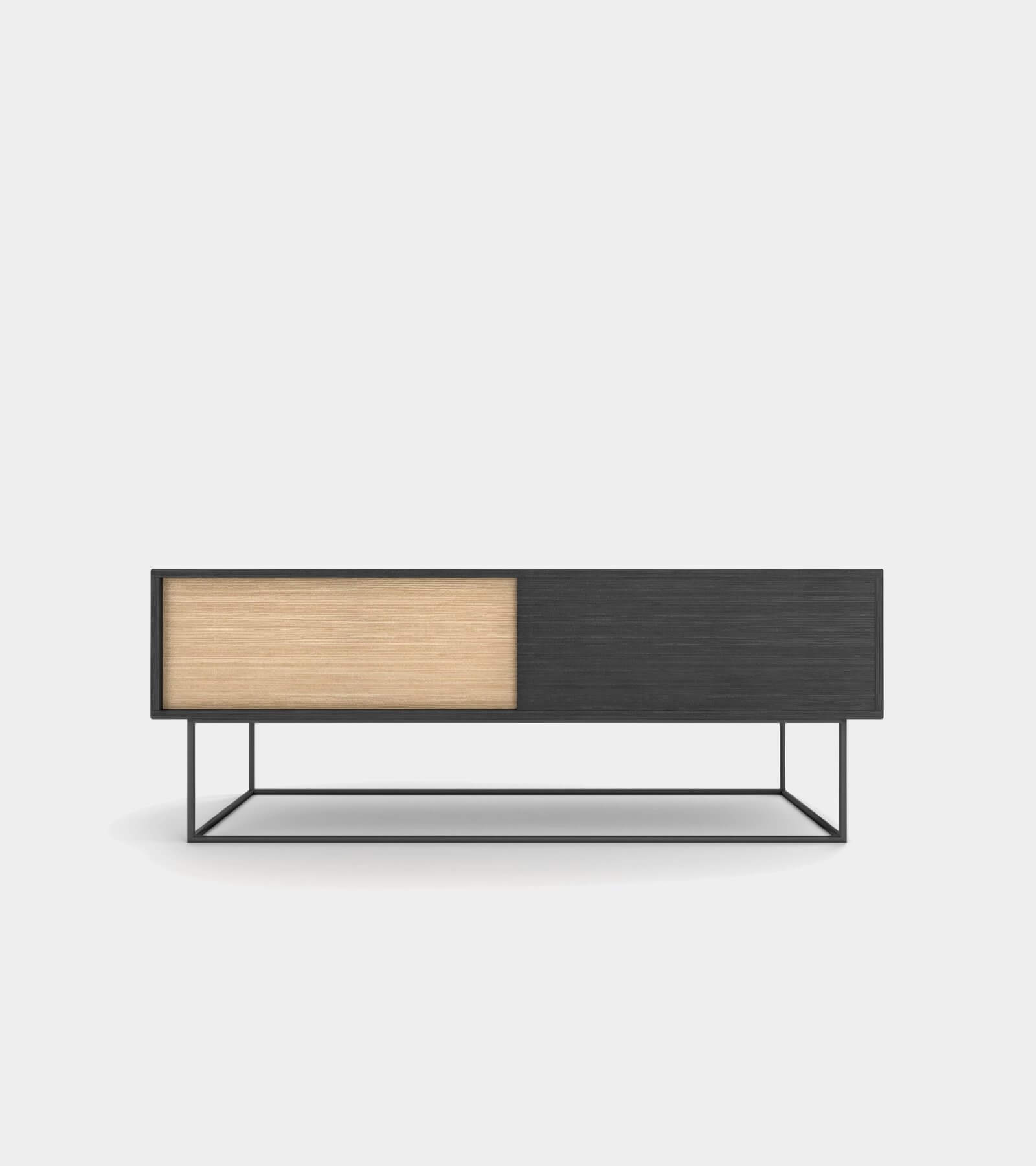 Low sideboard out of wood- 3D Model