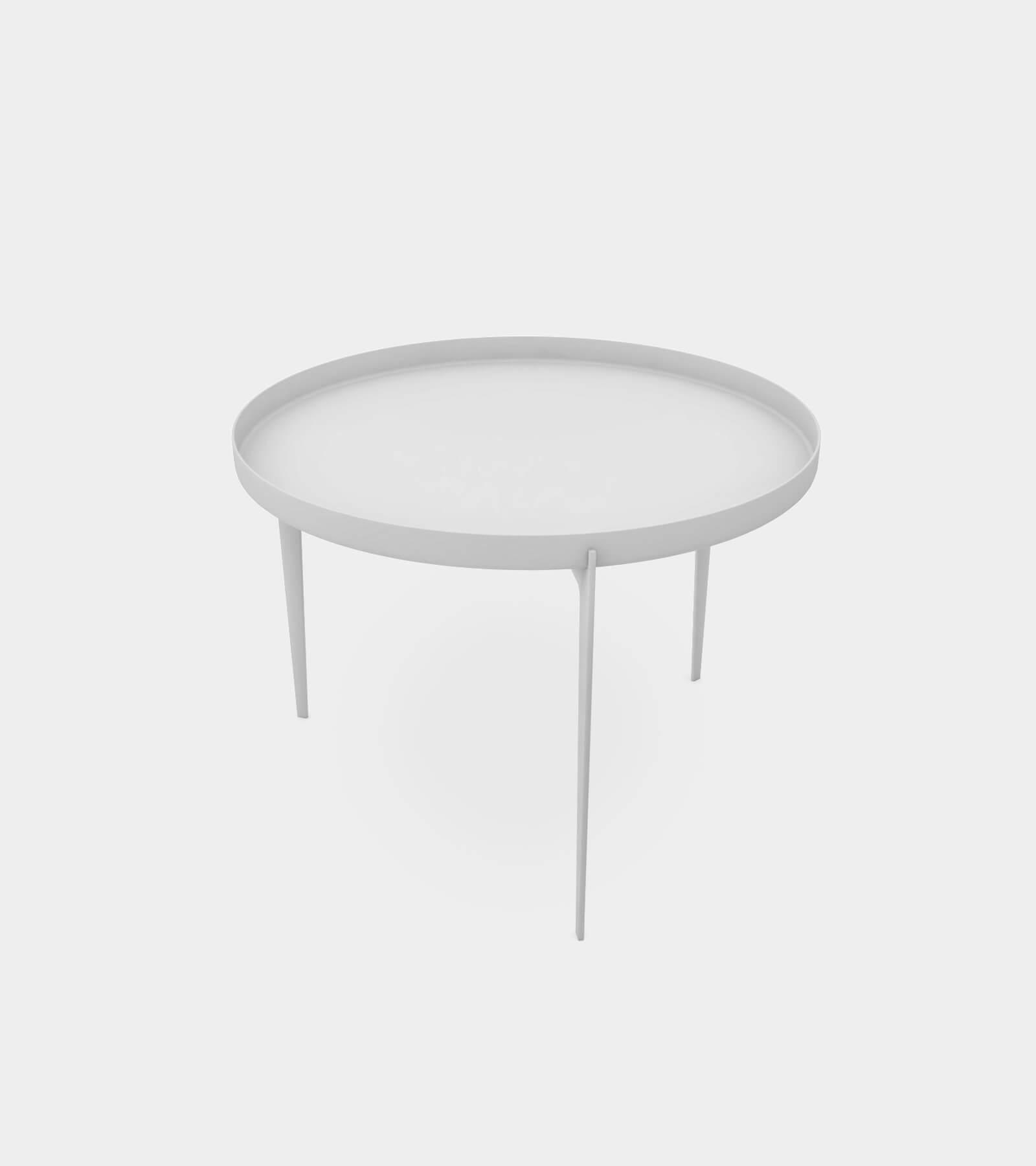 Modern metal coffee table 1 - 3D Model