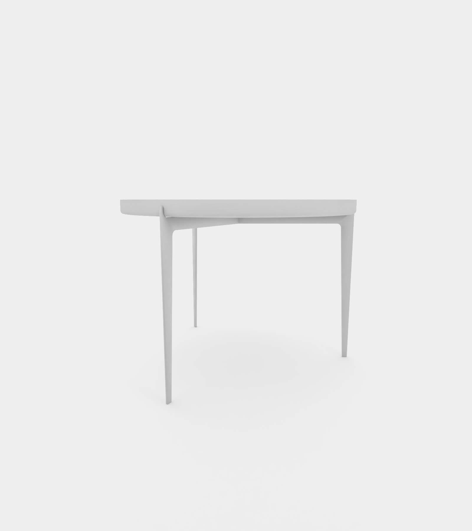 Modern metal coffee table 2 - 3D Model