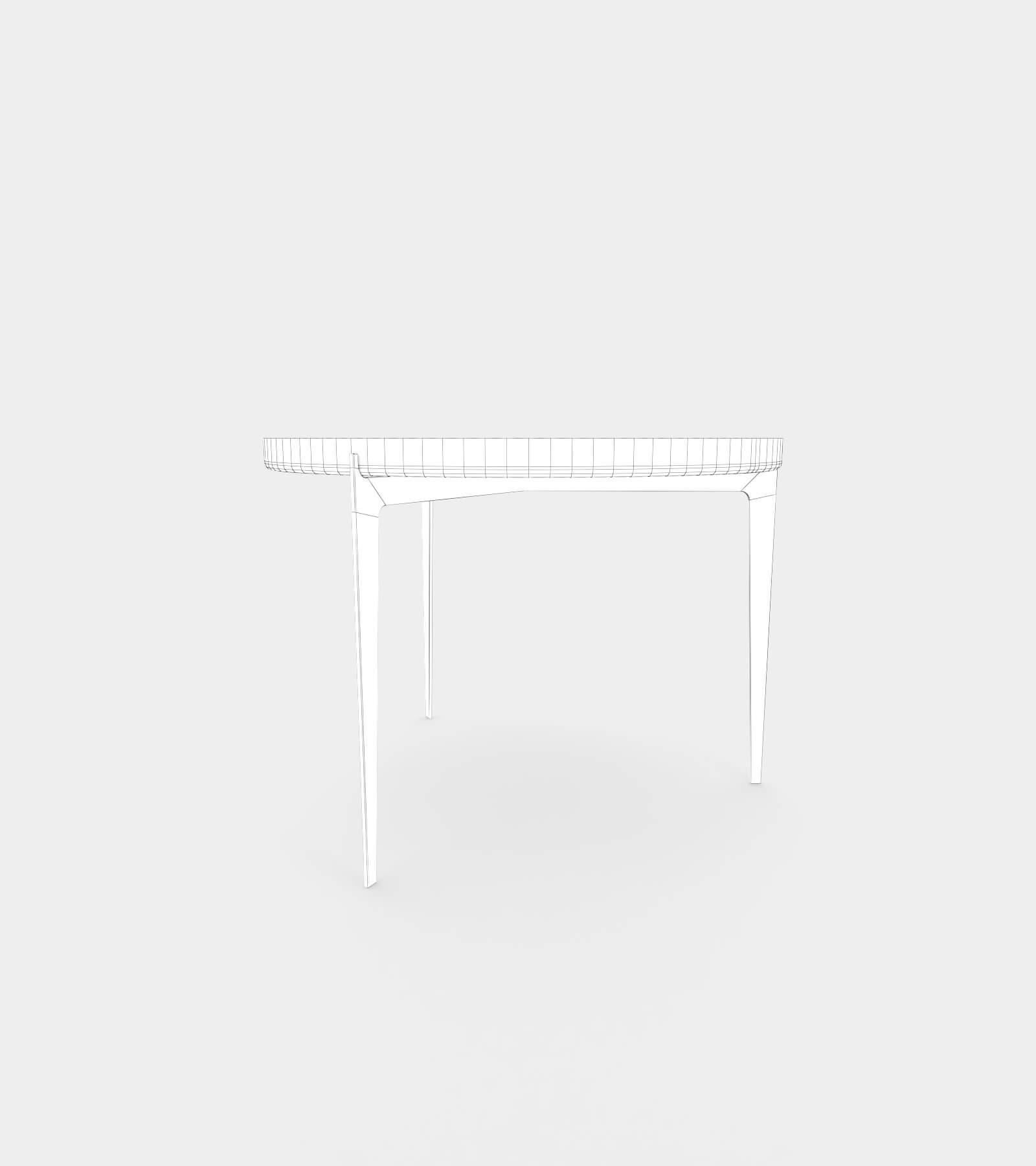 Modern metal coffee table -wire-2 3D Model