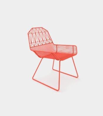 Modern outdoor & indoor lounge chair 1- 3D Model