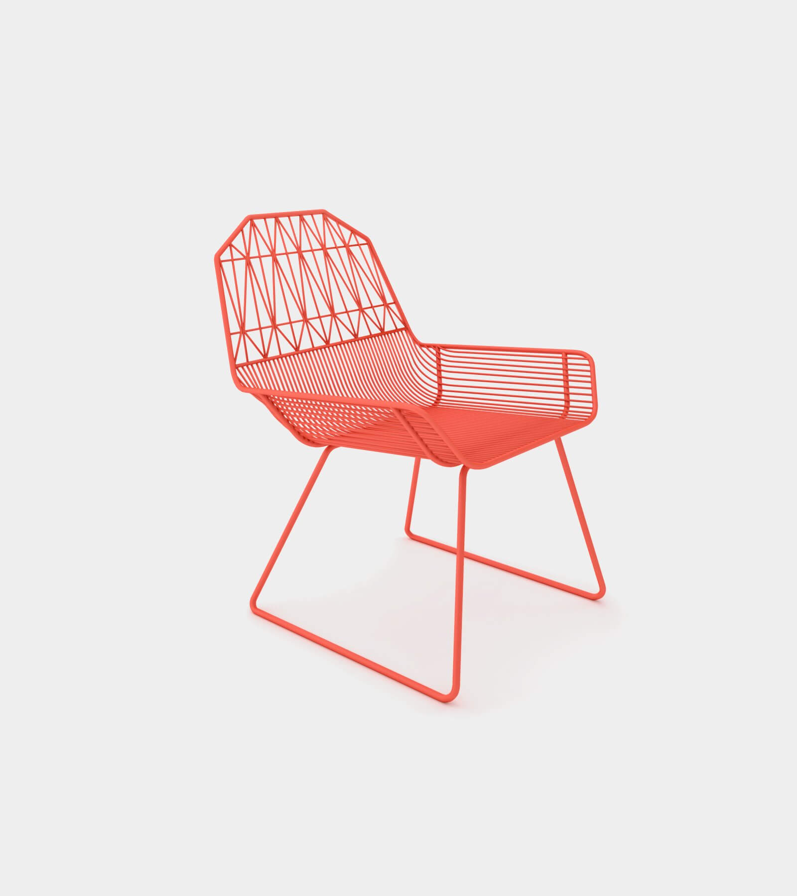Modern outdoor & indoor lounge chair 1- 3D Model