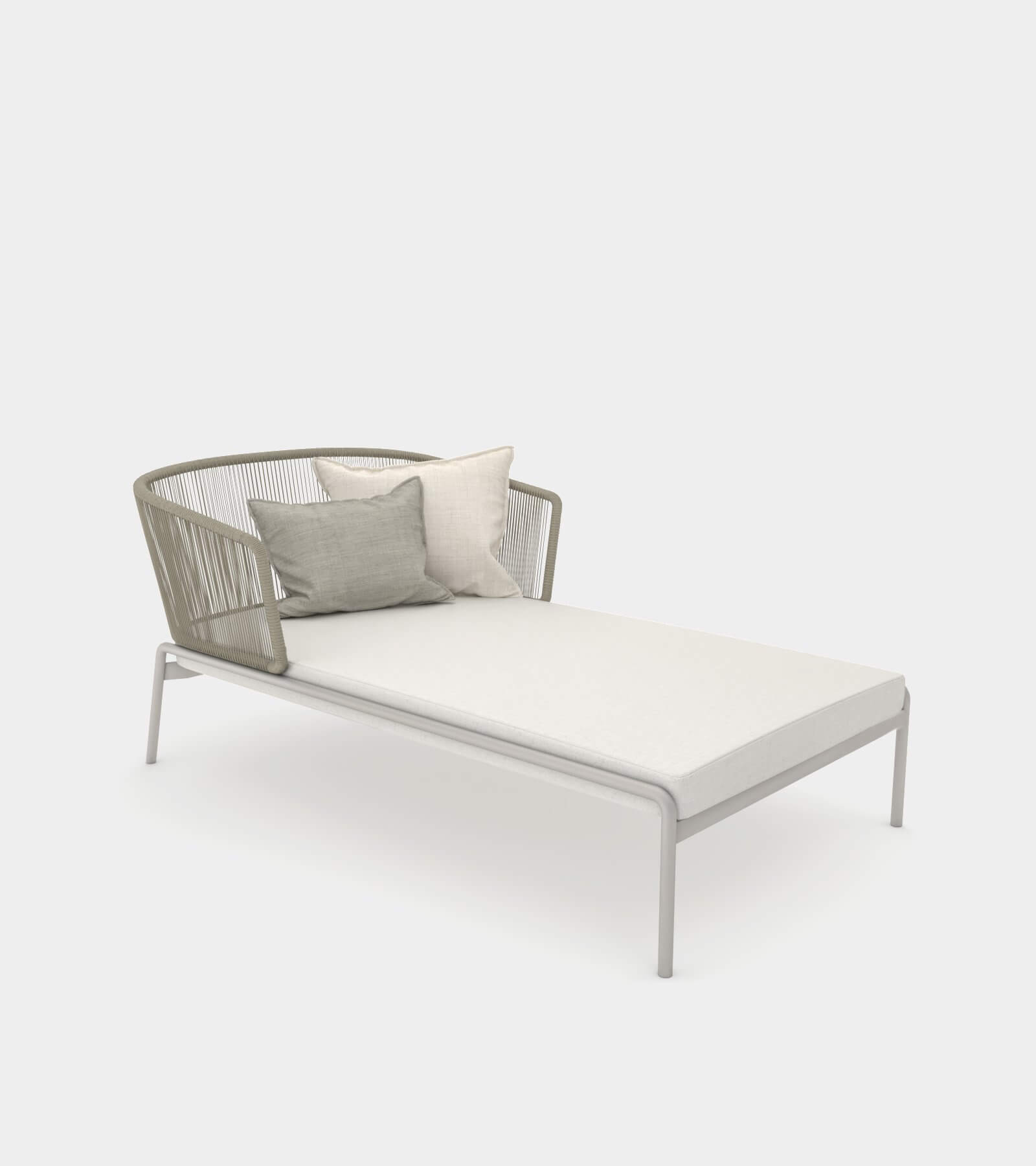 Outdoor pool chaise lounge - 3D Model