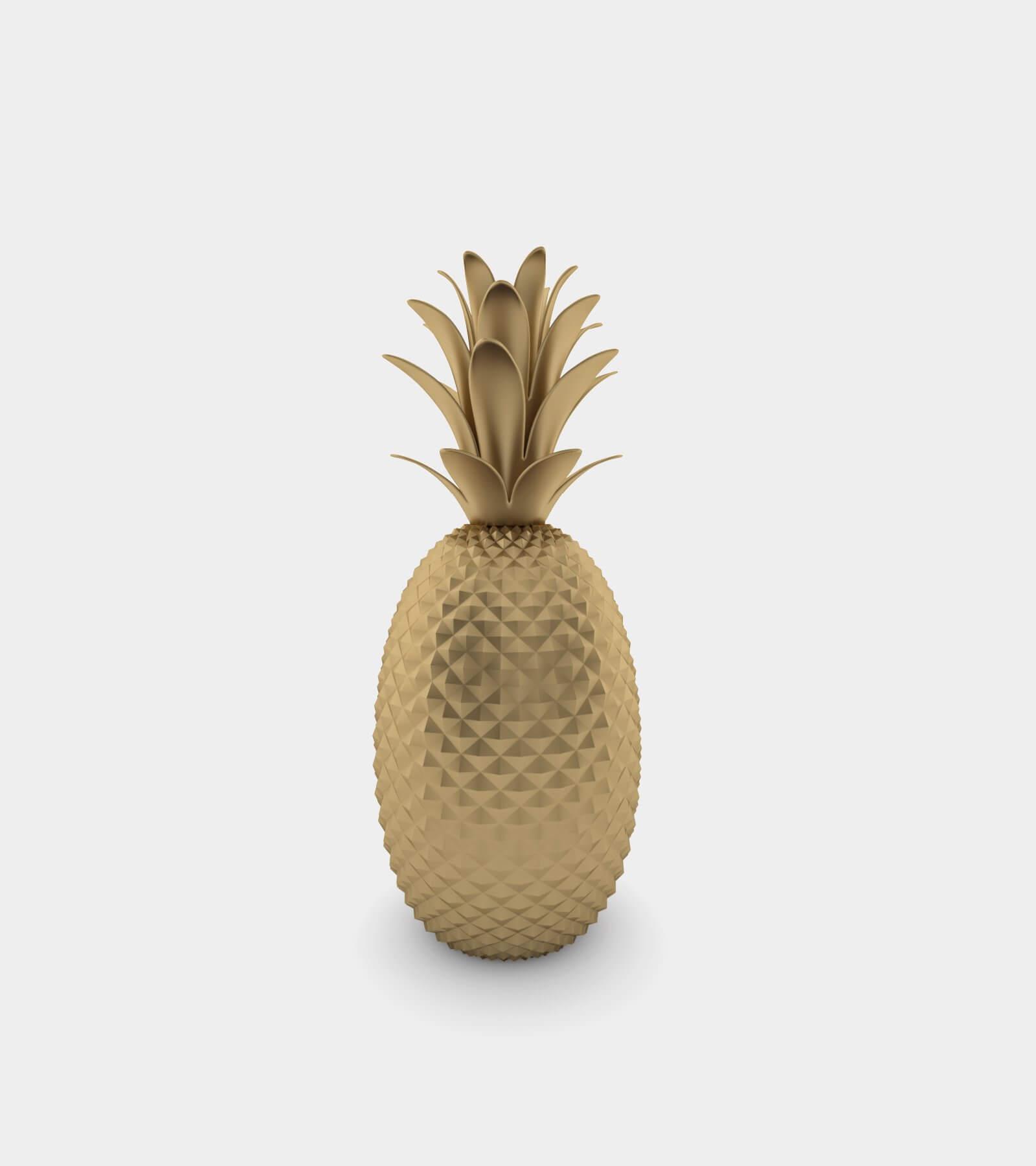 Pineapple statue 2 - 3D Model