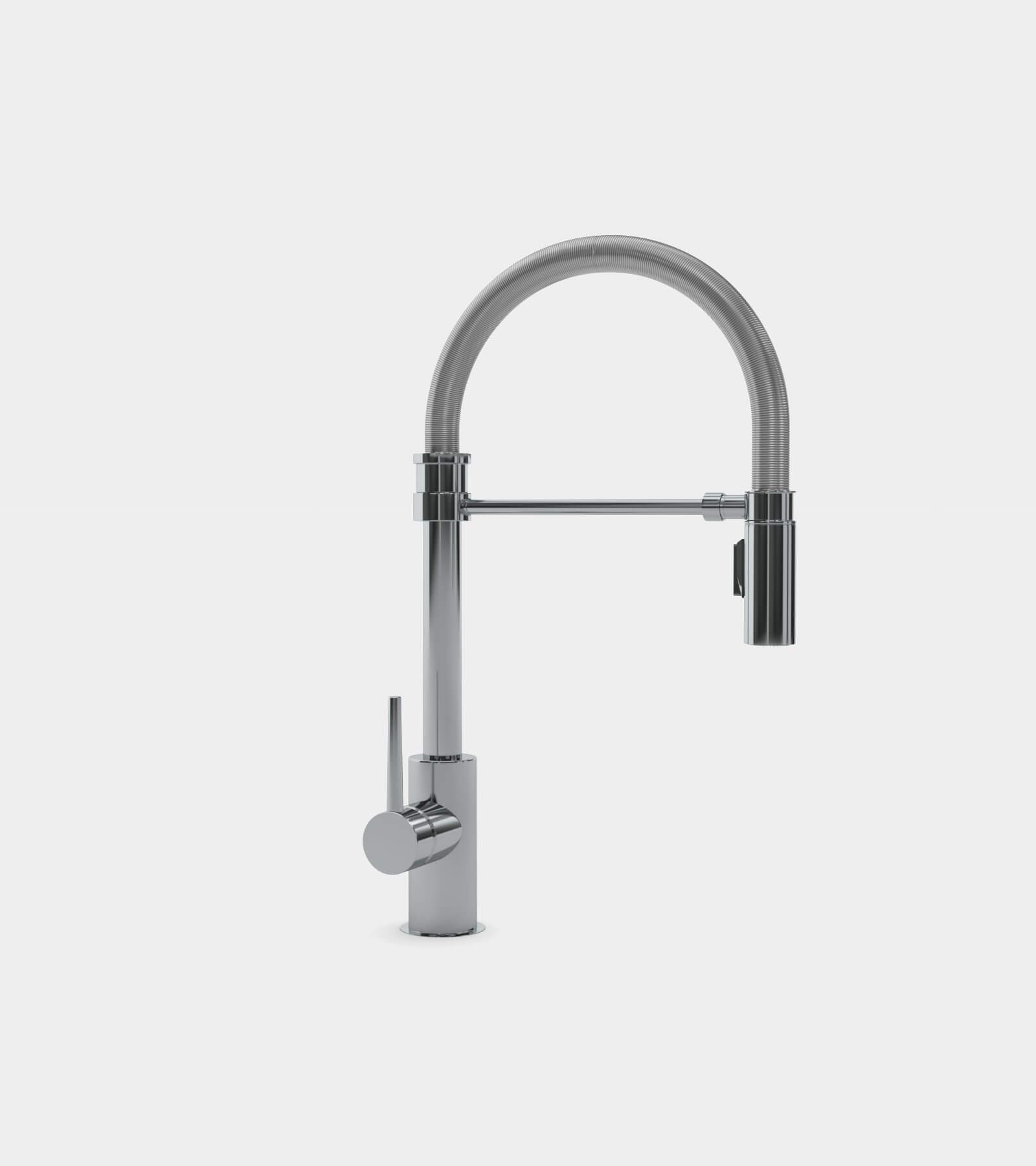 Single handle pull-down faucet for kitchen 2 - 3D Model