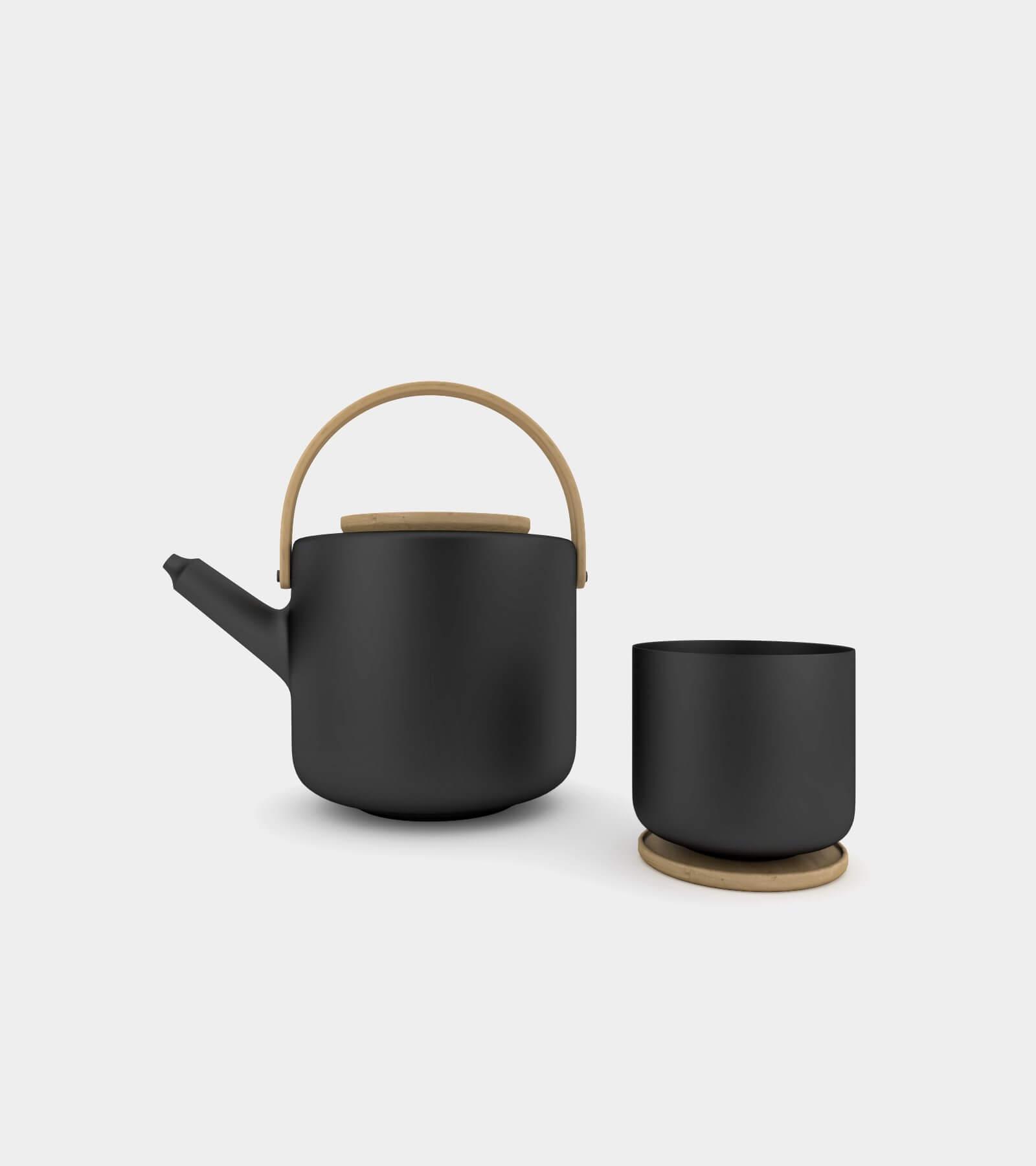 Teapot & tea mug- 3D Model