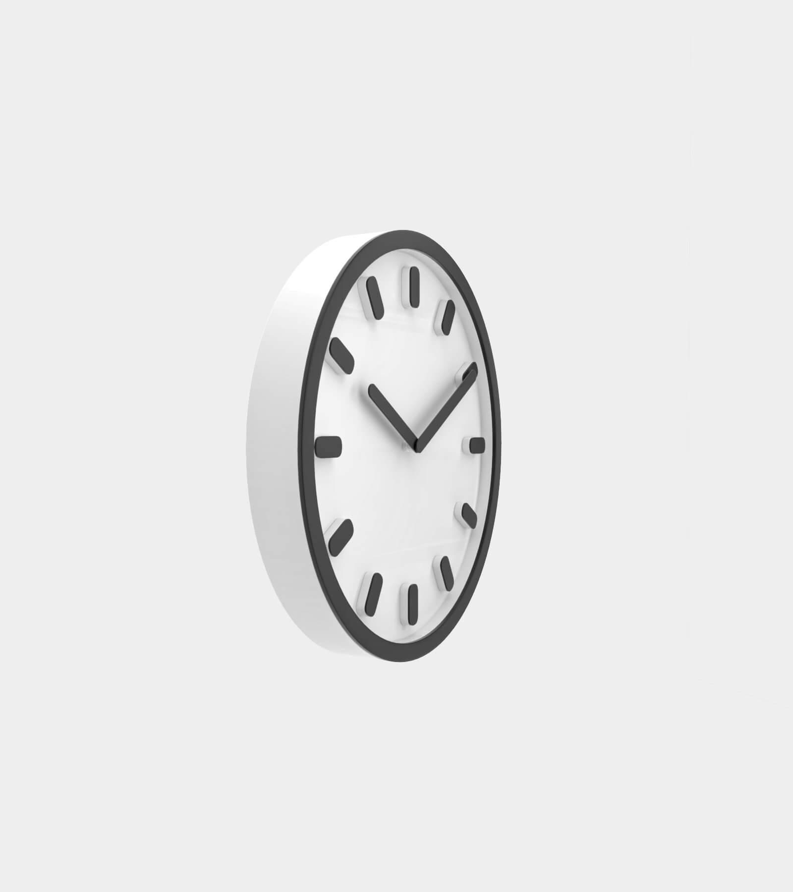 Wall clock 2- 3D Model