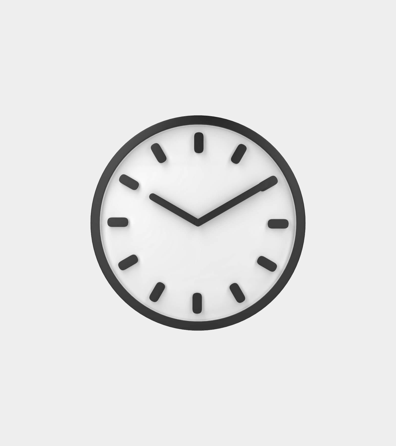 Wall clock- 3D Model