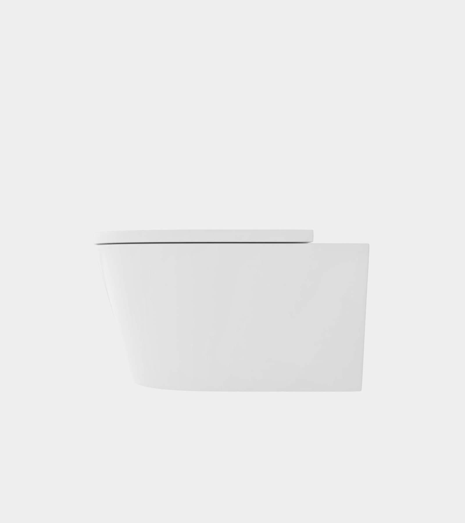 Wall mounted wc pan 1 - 3D Model