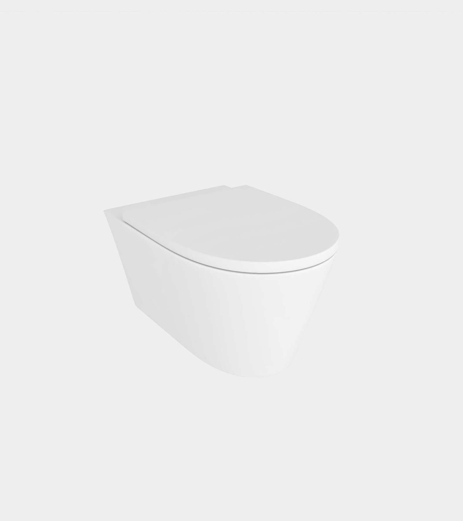 Wall mounted wc pan - 3D Model