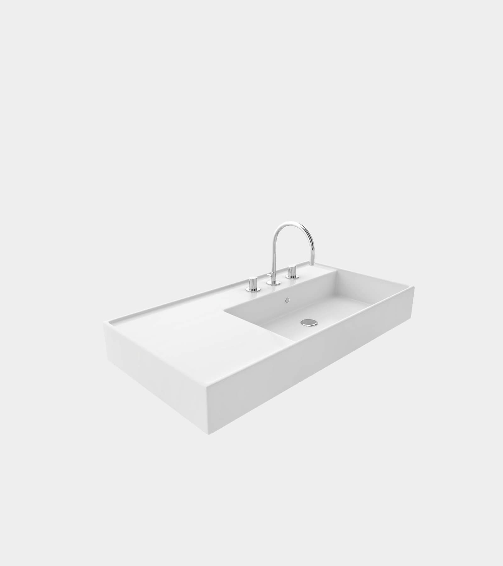 Washbasin with faucet 2- 3D Model