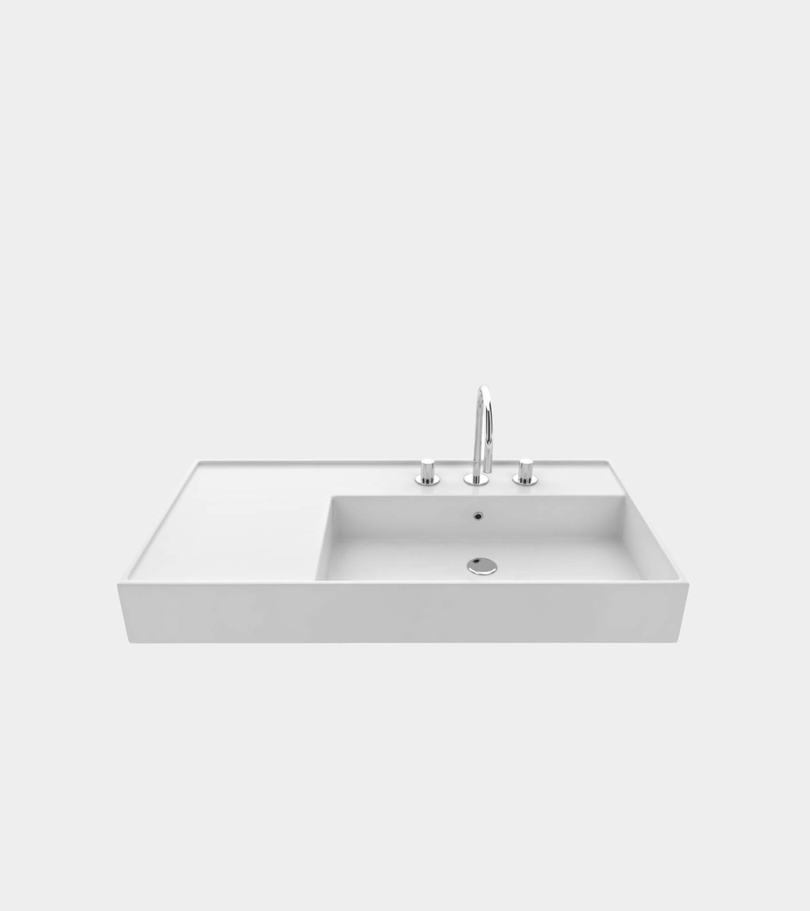 Washbasin with faucet- 3D Model