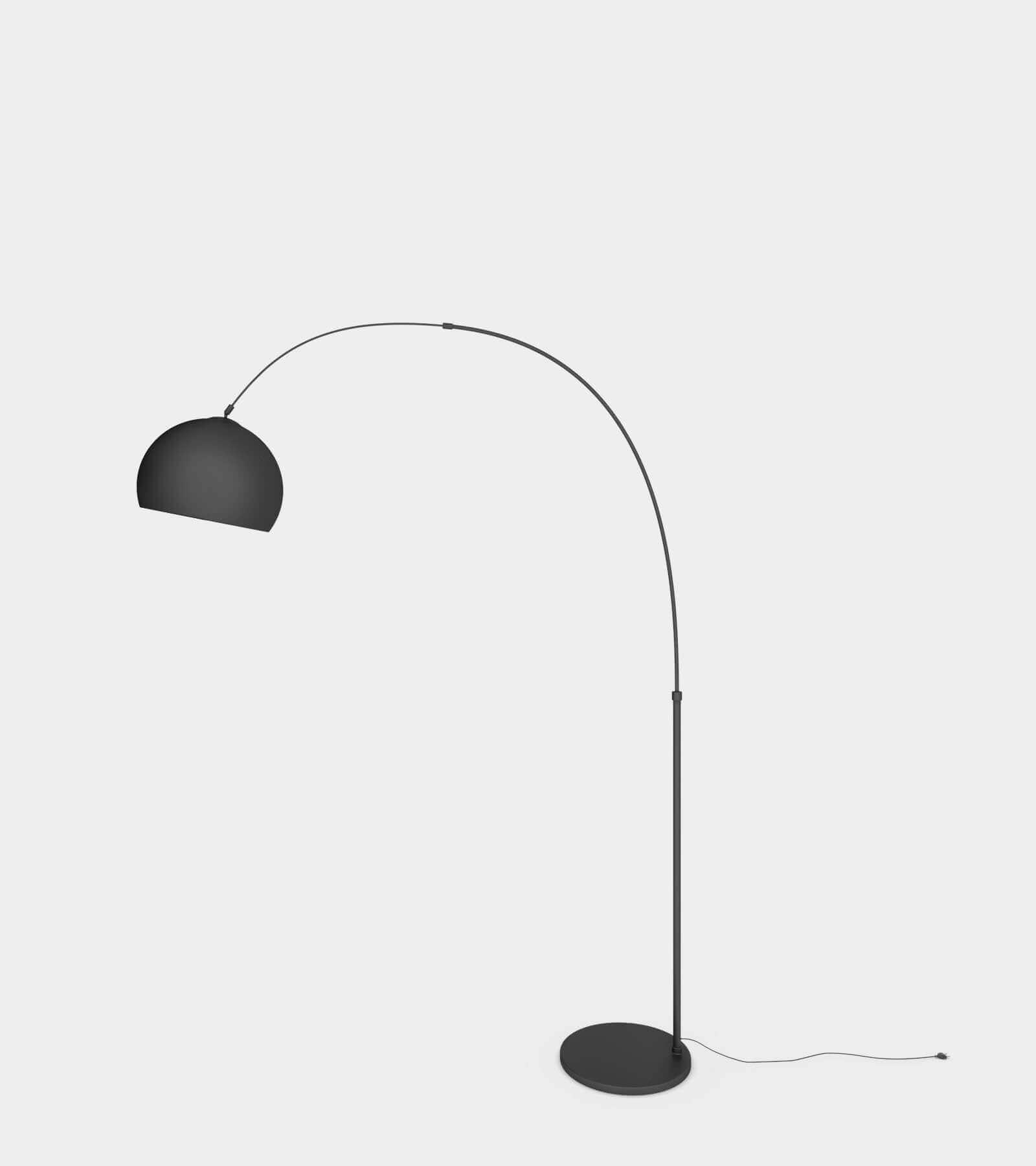 Arc living floor lamp- 3D Model