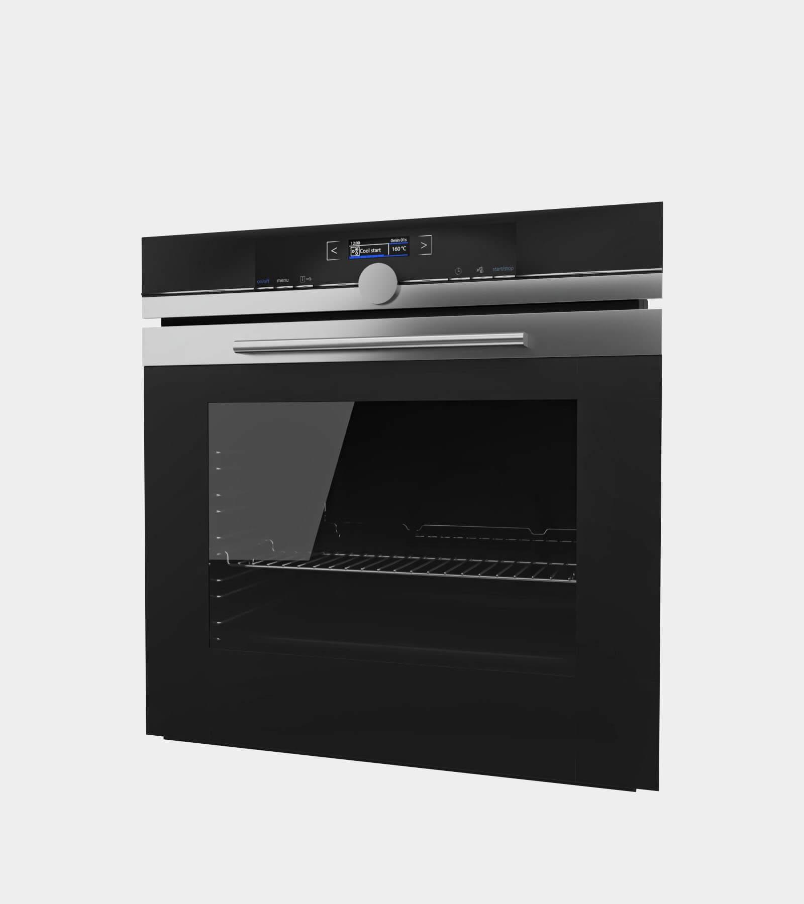 Black oven 2 - 3D Model