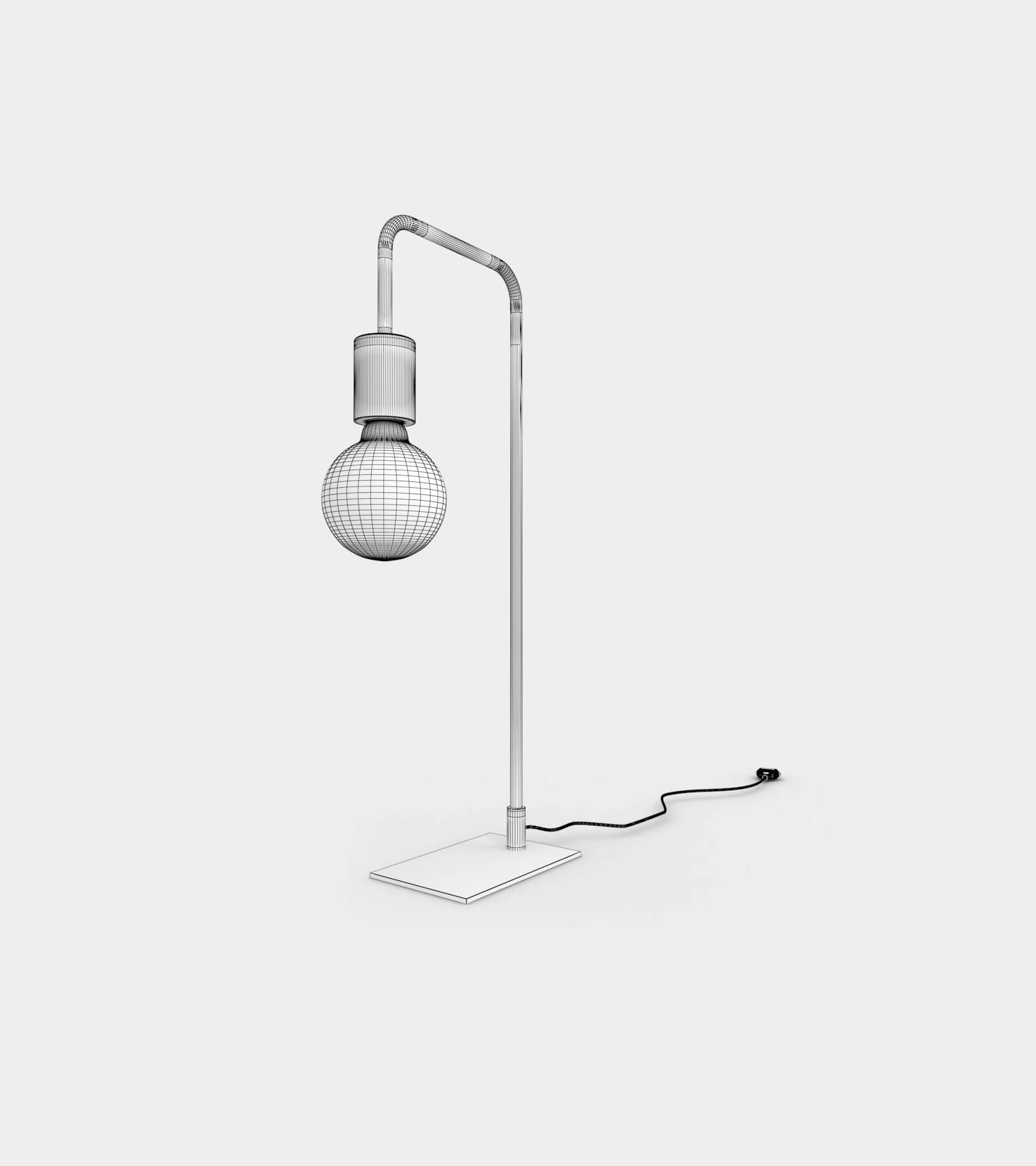 Modern & contemporary minimalist table lamp-wire-1 3D Model