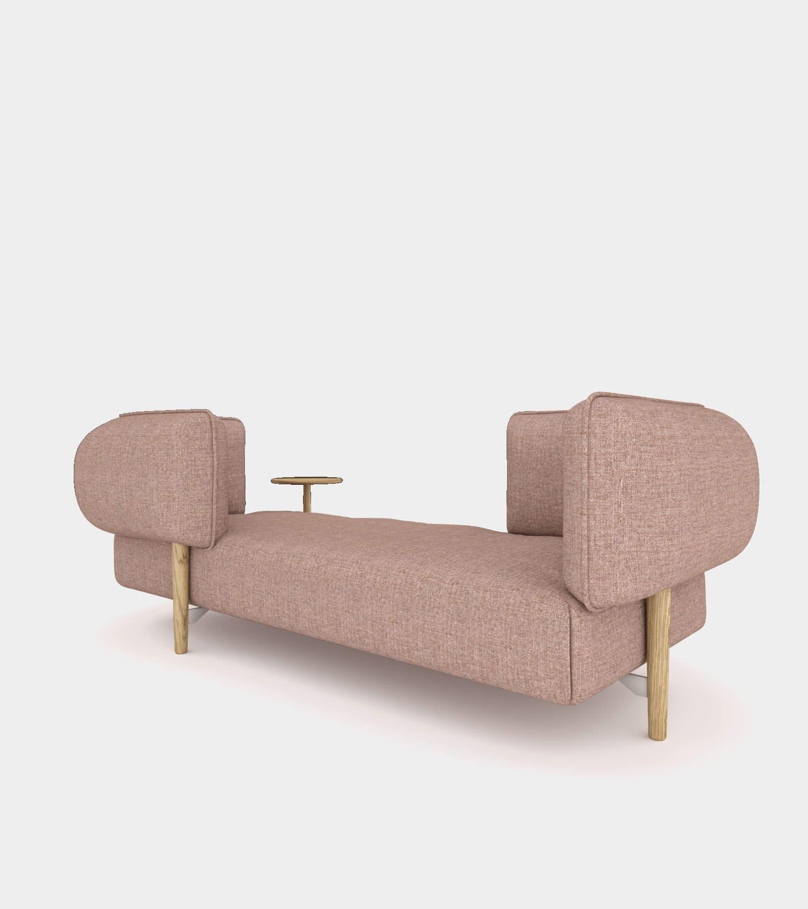 Modular fabric seat bench- 3D Model