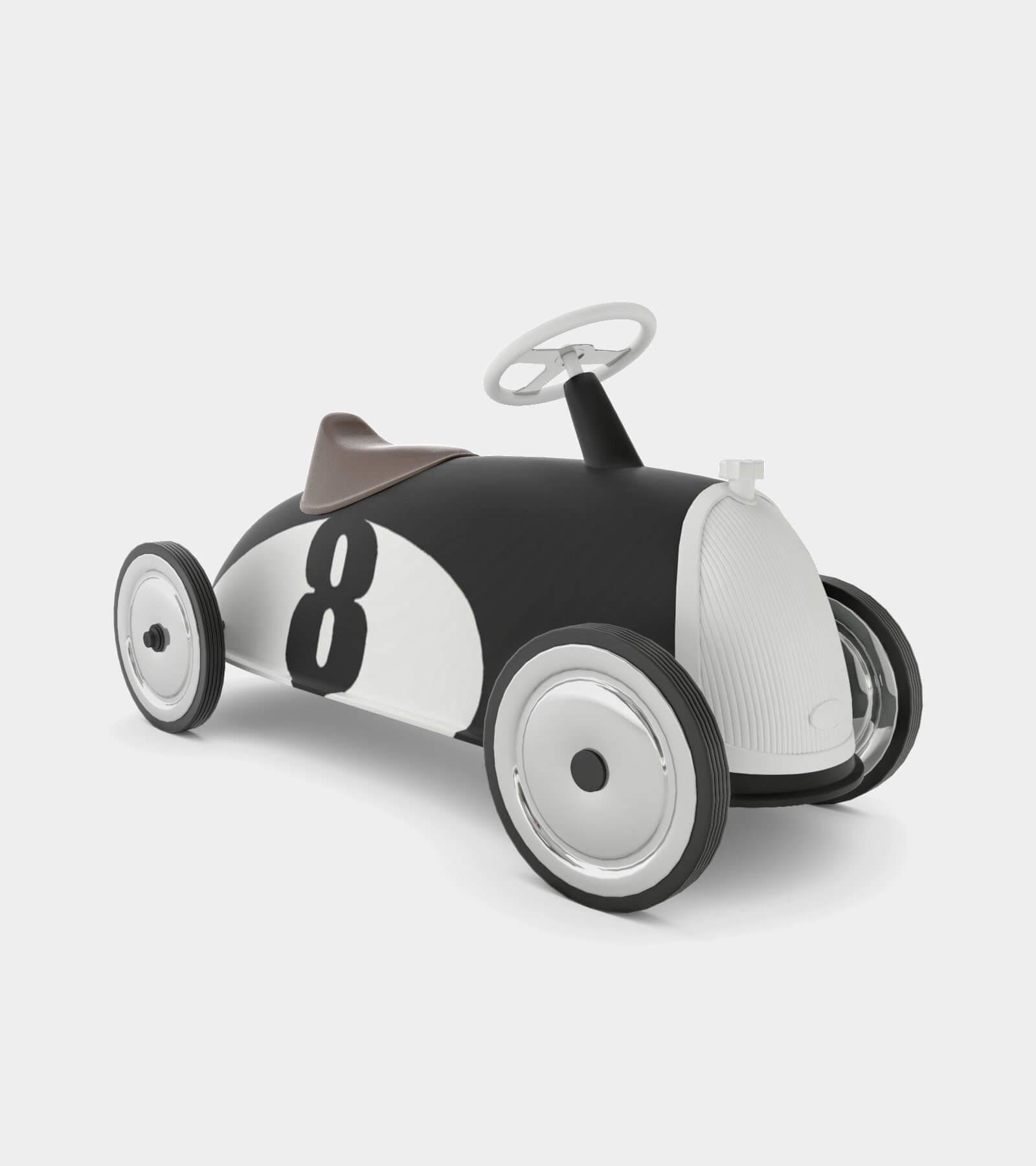 Retro Toy car 2- 3D Model