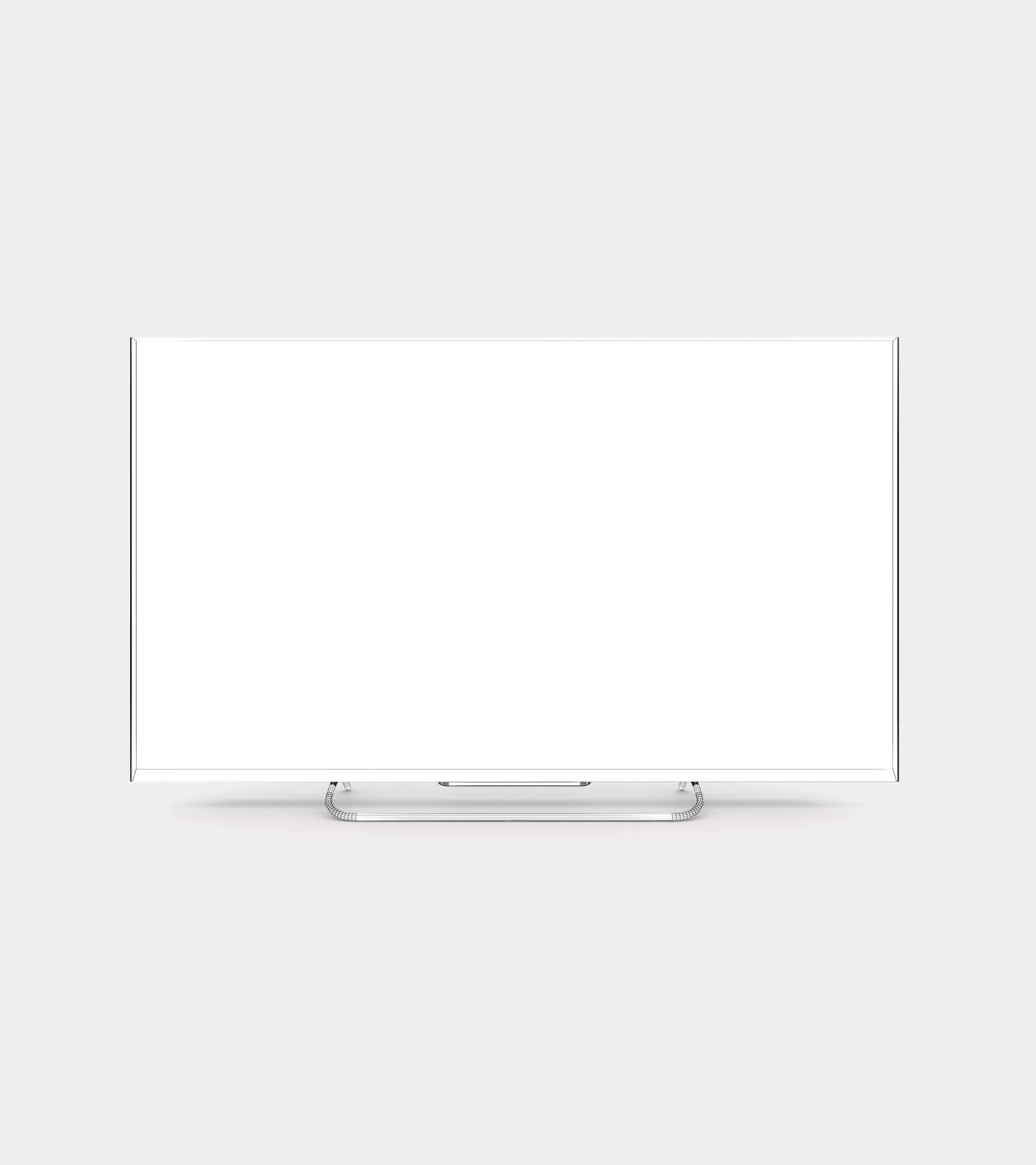 Smart TV-wire-1 3D Model