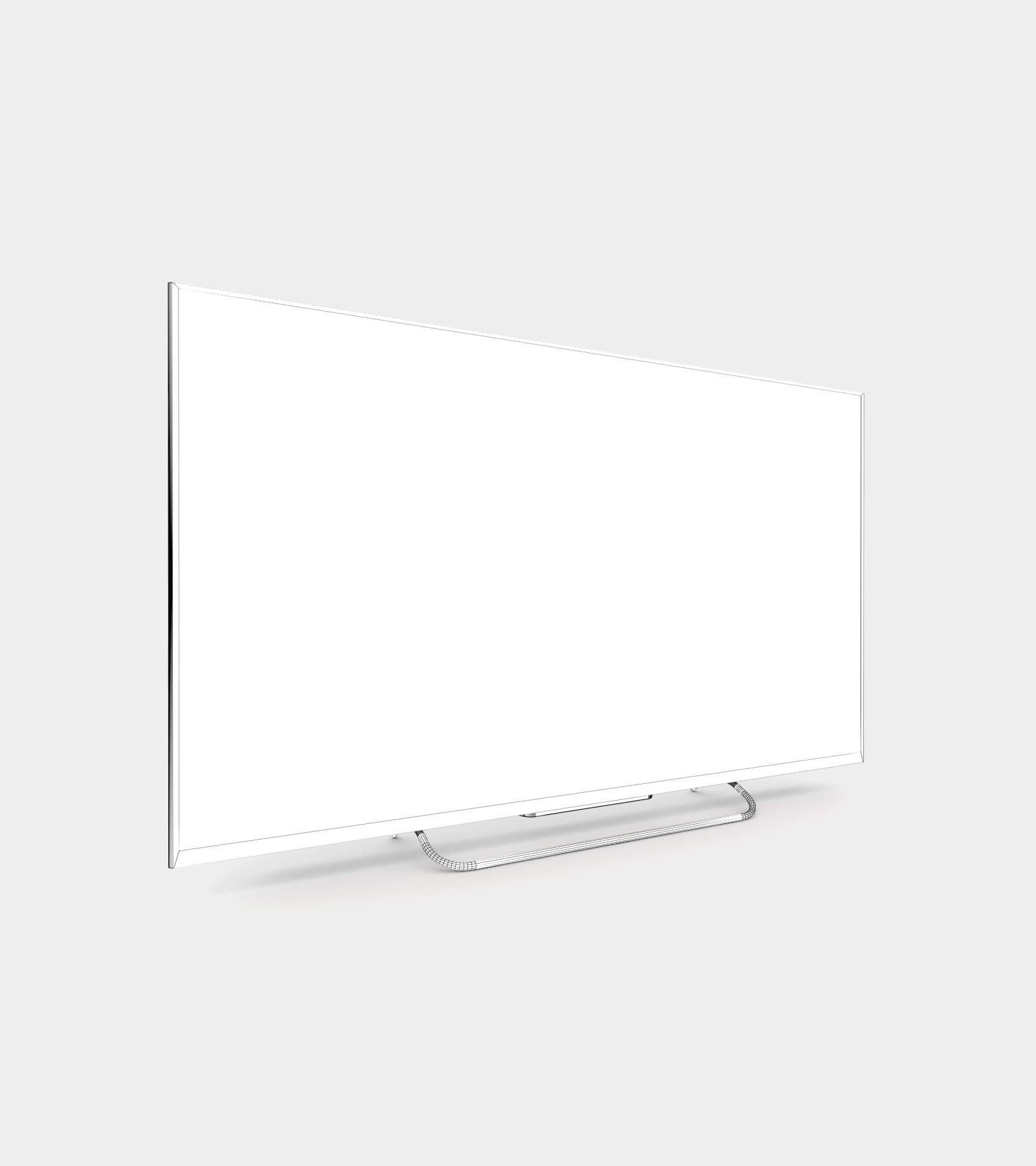 Smart TV-wire-2 3D Model