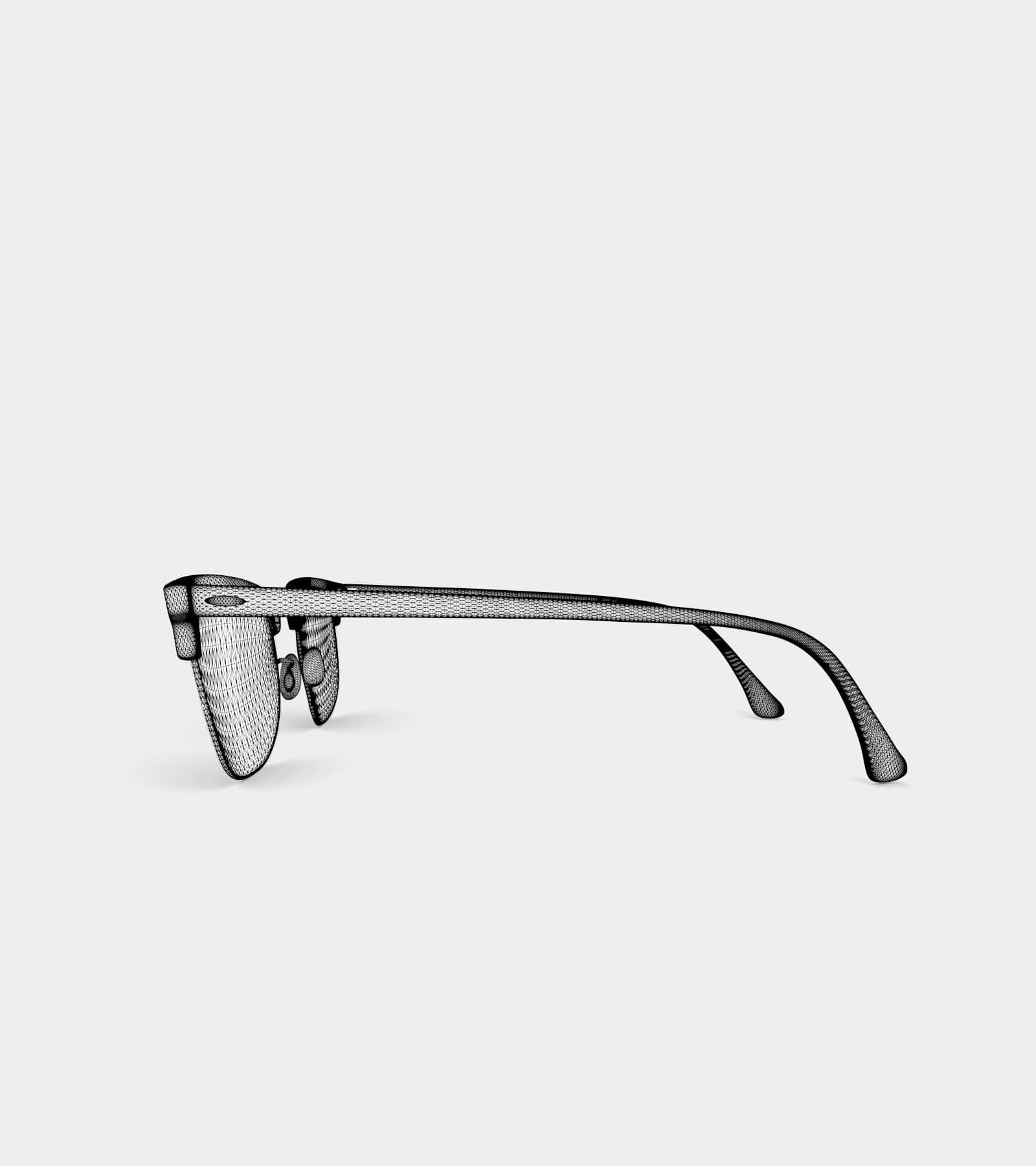 Sunglass-wire-1 3D Model