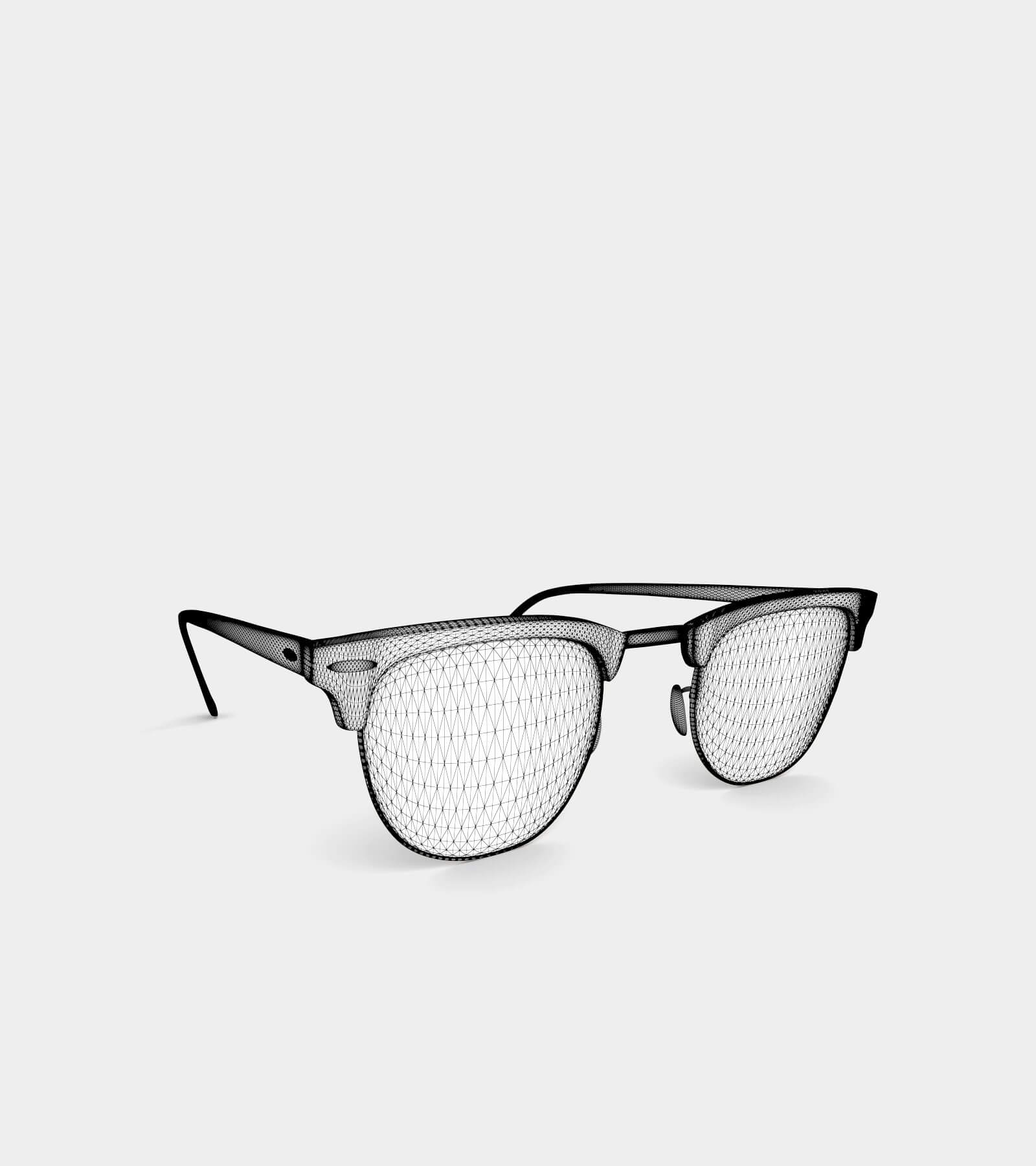 Sunglass-wire-2 3D Model