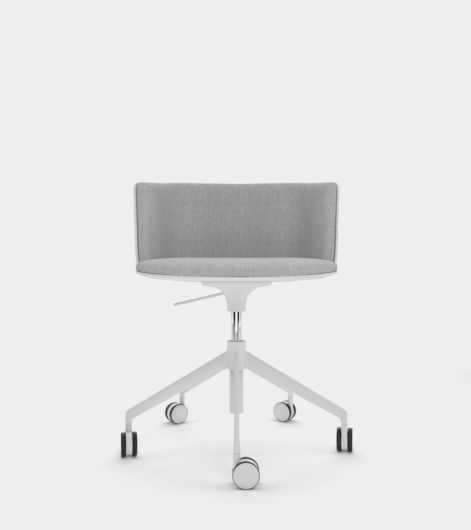 Wheel chair with fabric seat 2 3D Model