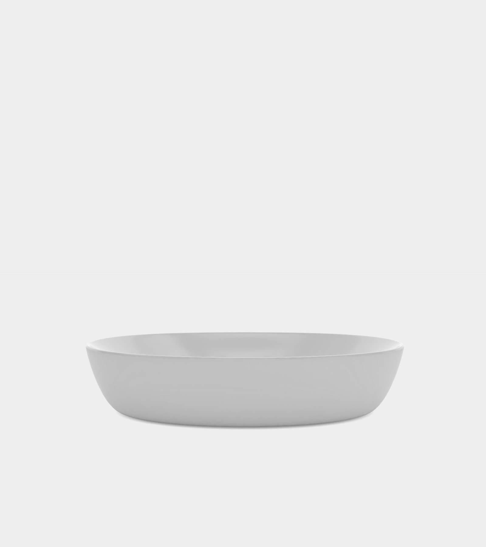 White wash basin with a round shape 2 3D Model