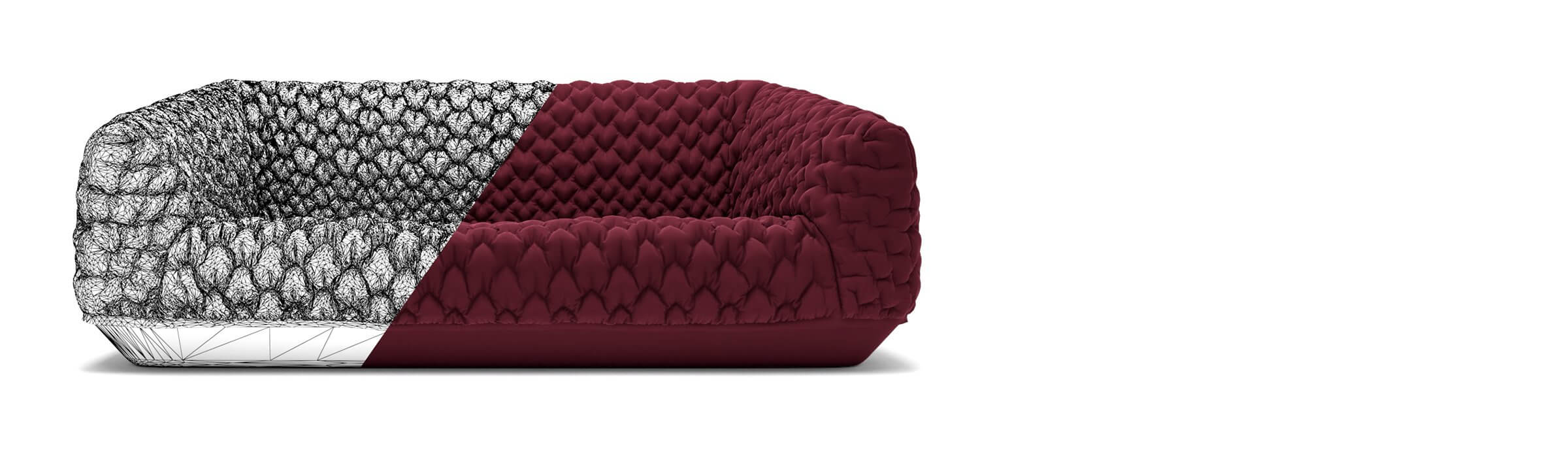 Home 3d model sofa made with love-2