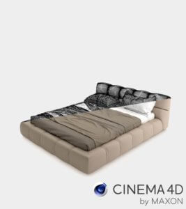 Photorealistic and high quality 3D Models for Cinema 4D