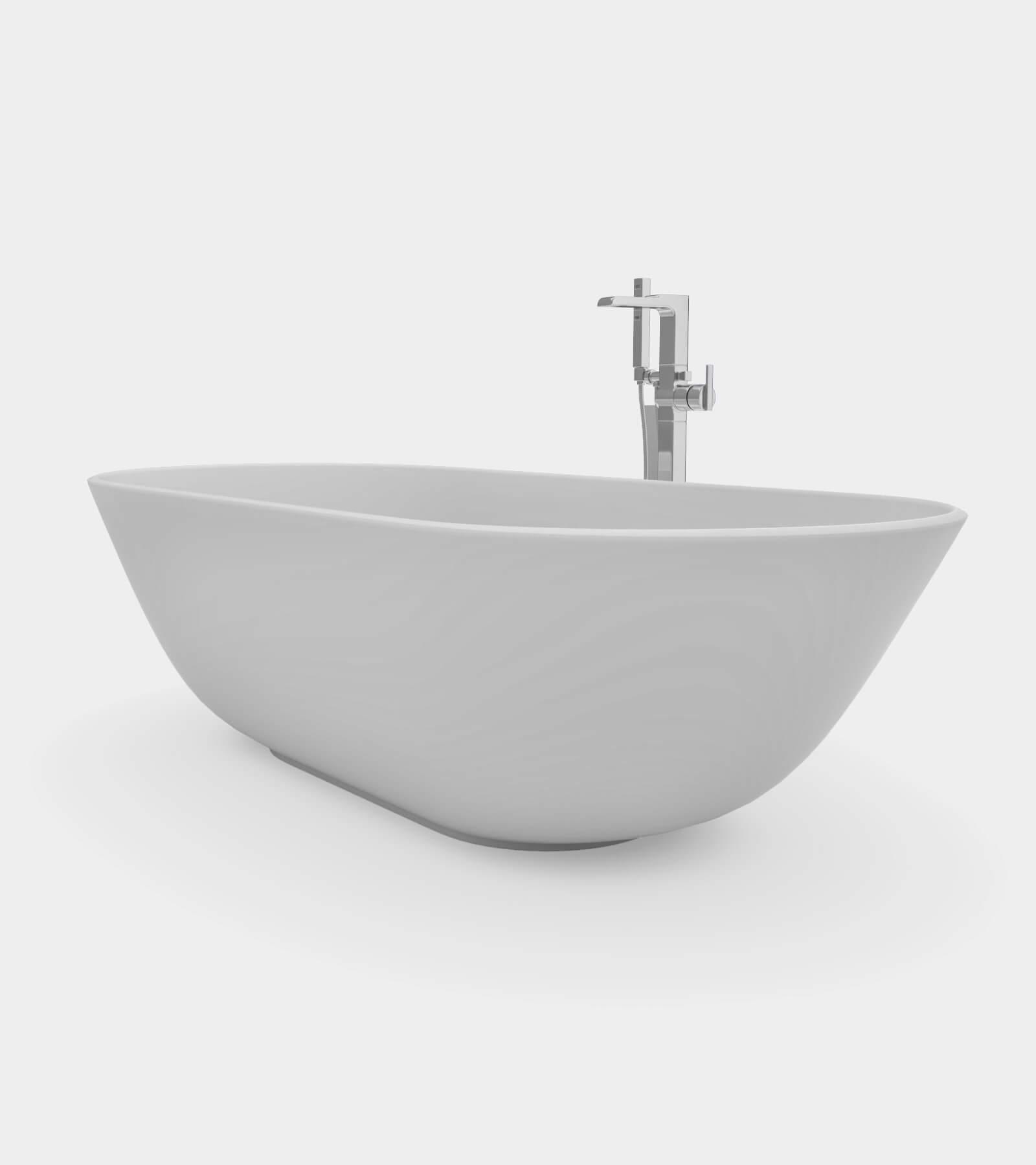 Bathroom Set 1 - 2 3D Model