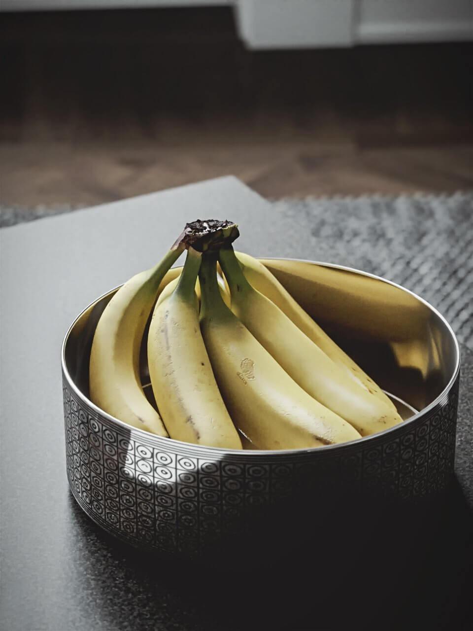 Scandinavian flat detail fruit banane - cgi visualization