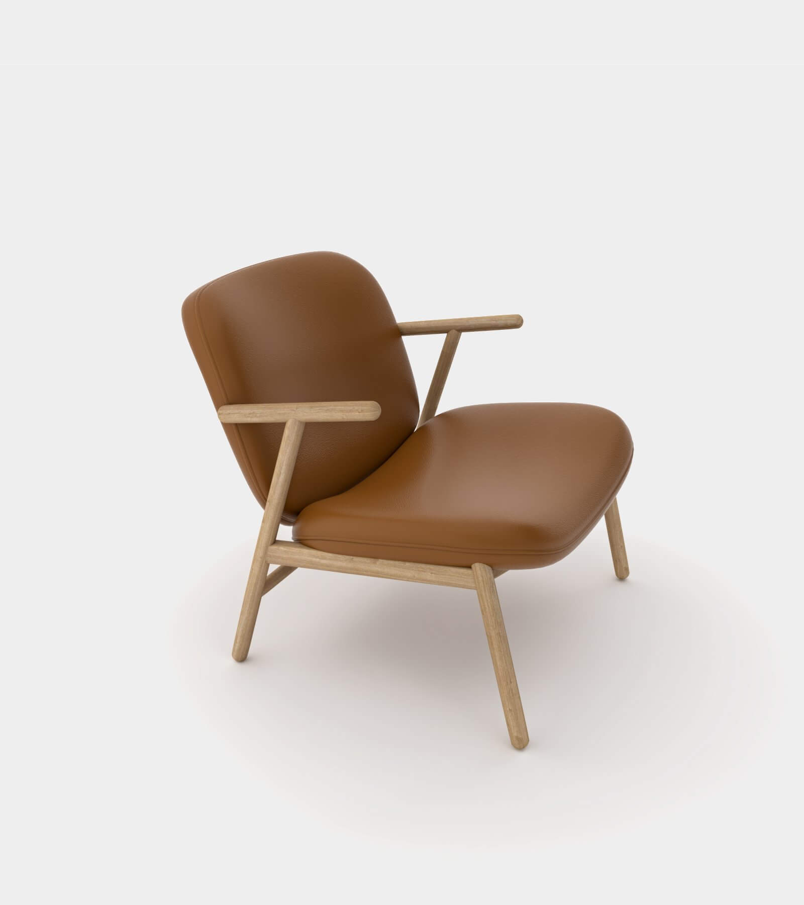 Cozy lounge chair-1-3D Model