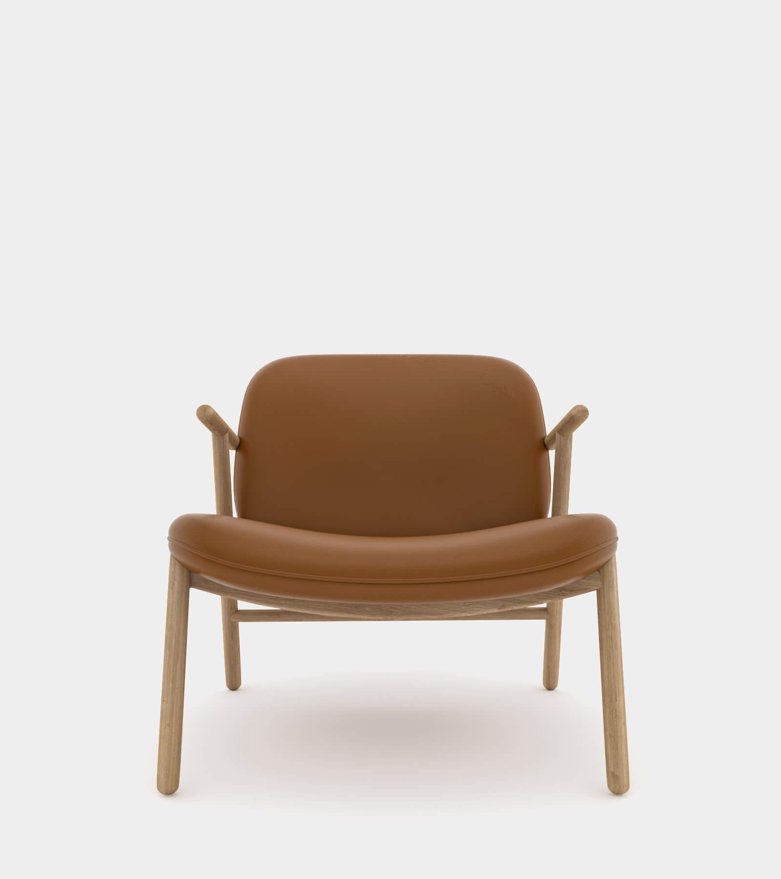 Cozy lounge chair-2 3D Model