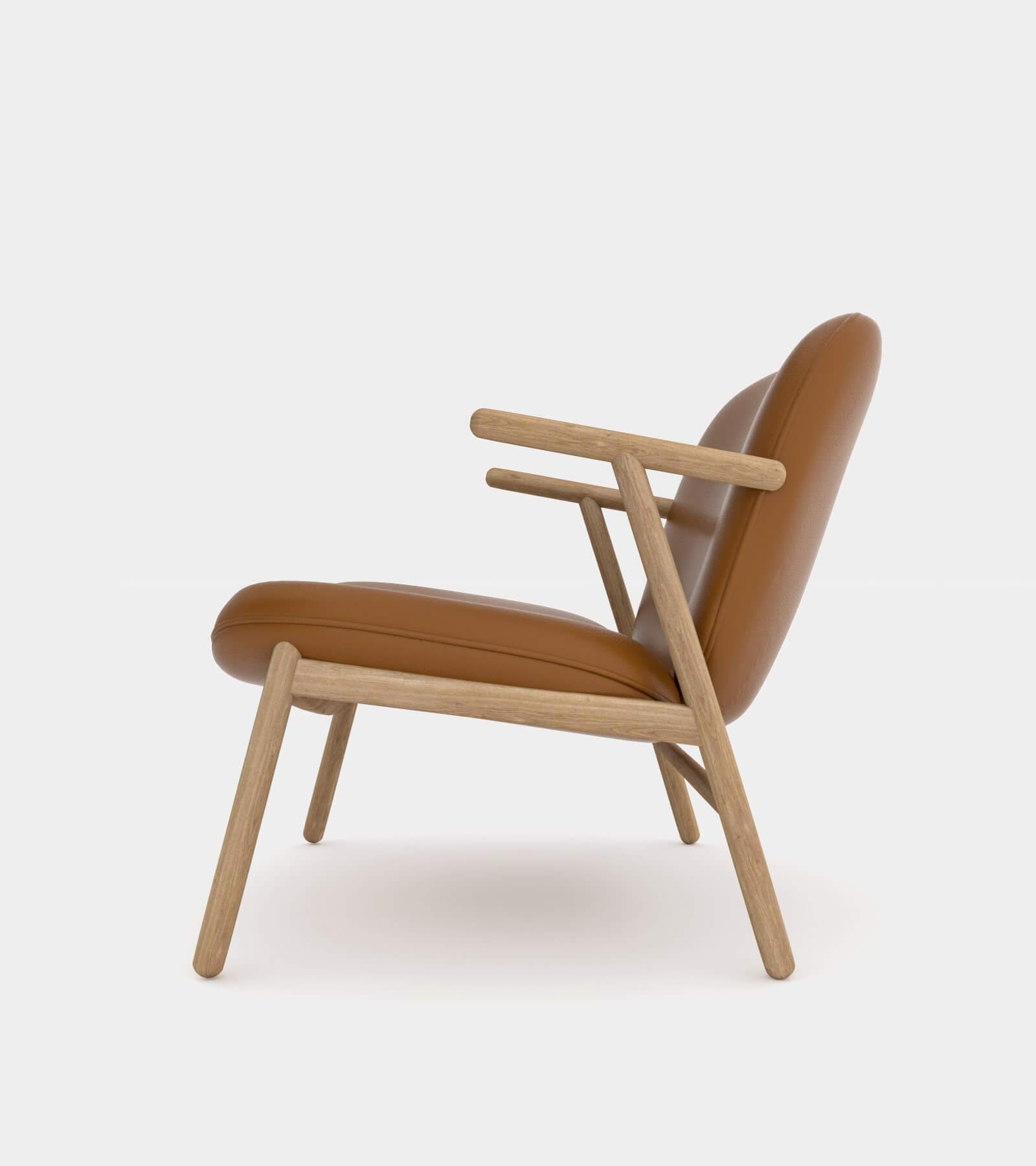 Cozy lounge chair-3 3D Model