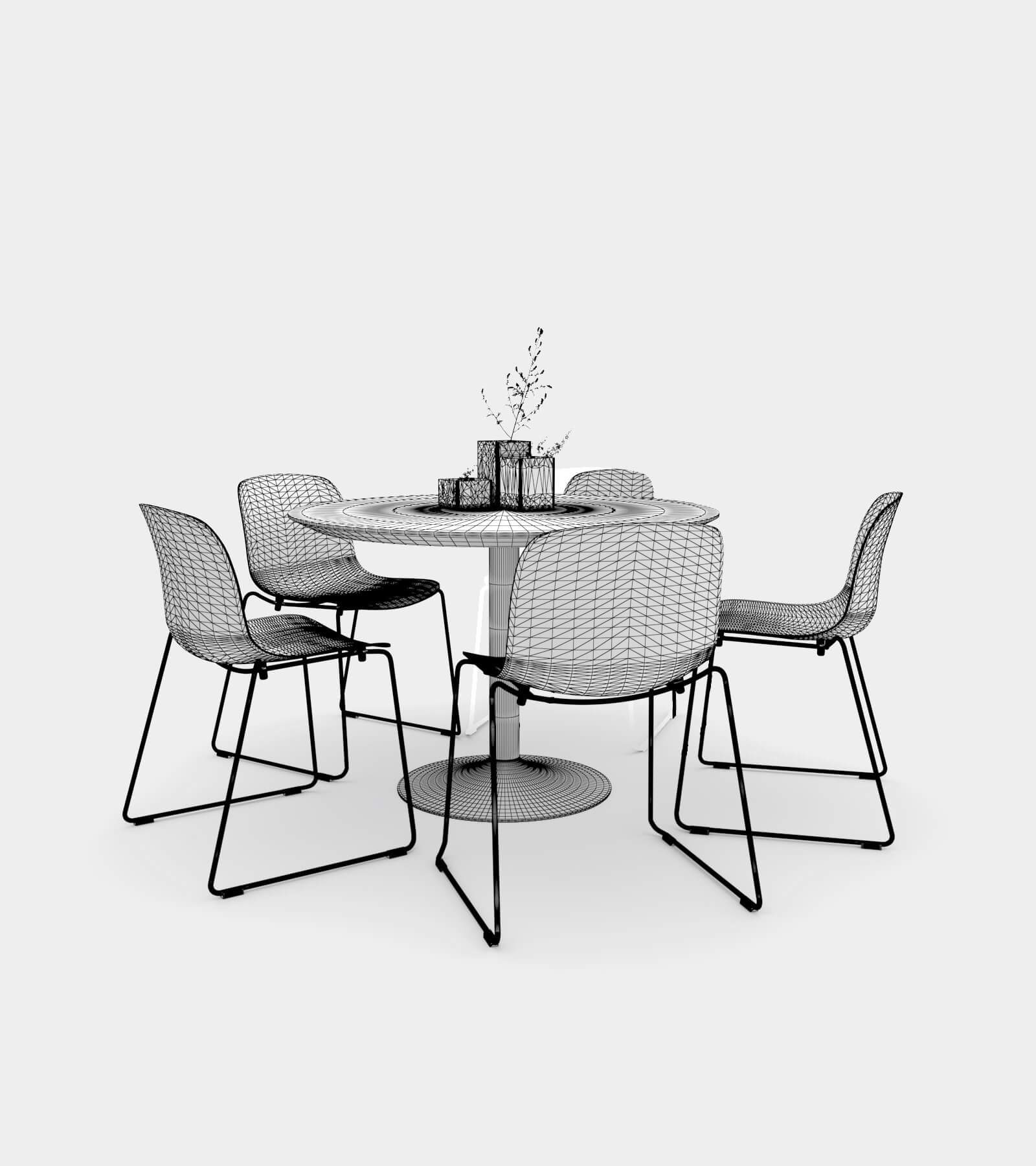 Dining Set 01-2-wire