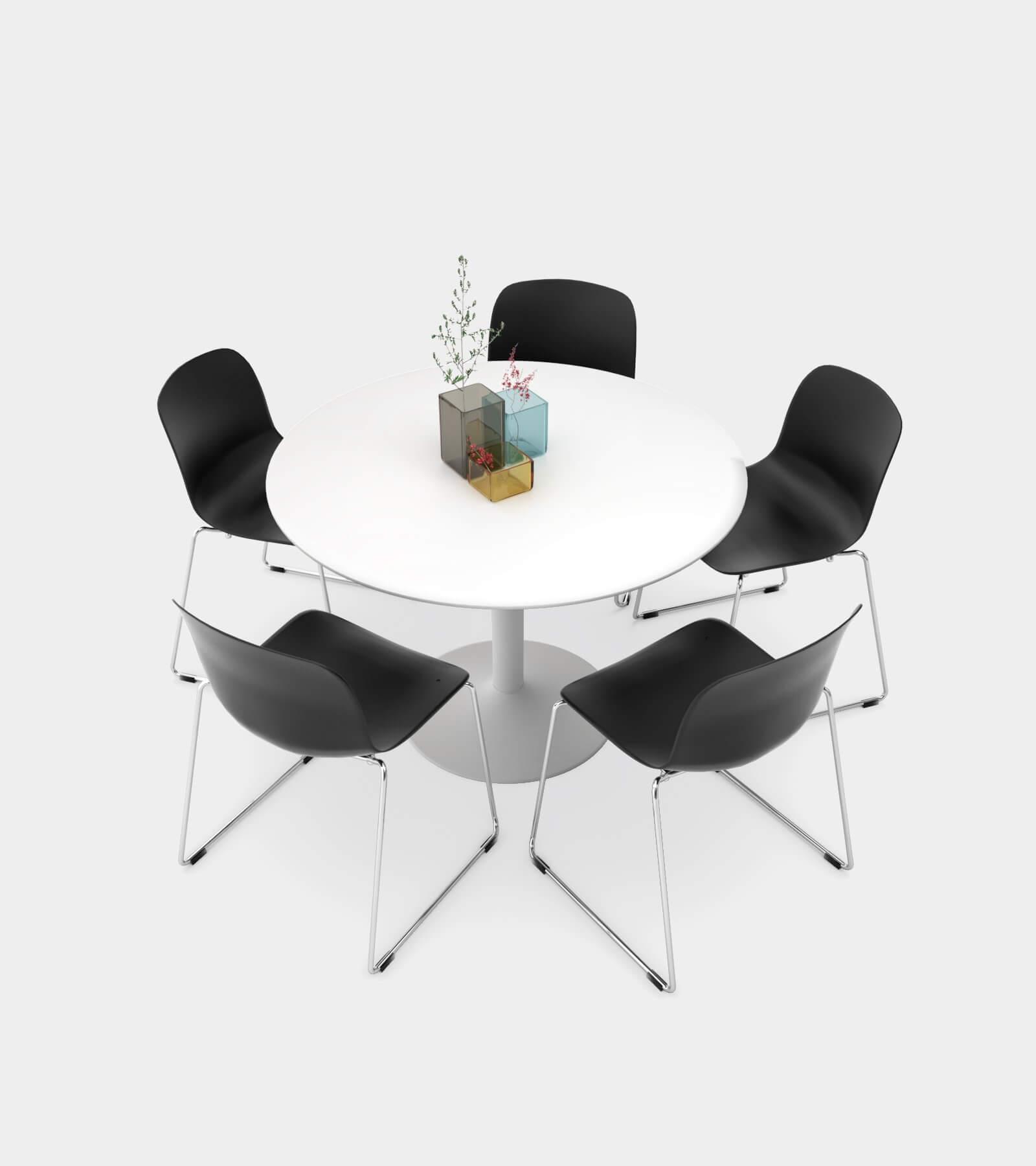 Dining Set 01-3D Model