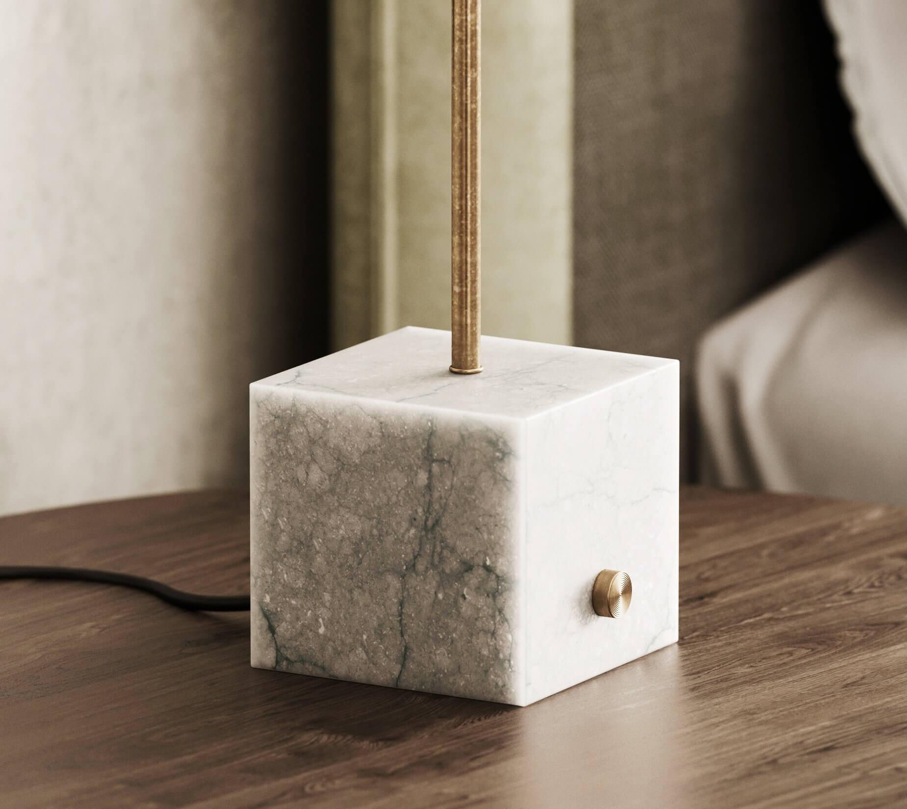 Sin-cinnati bedroom side table marble
